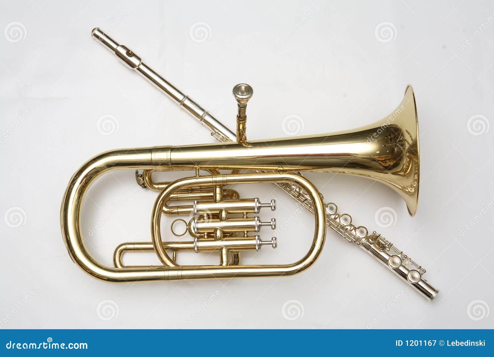 Cornet end flutes