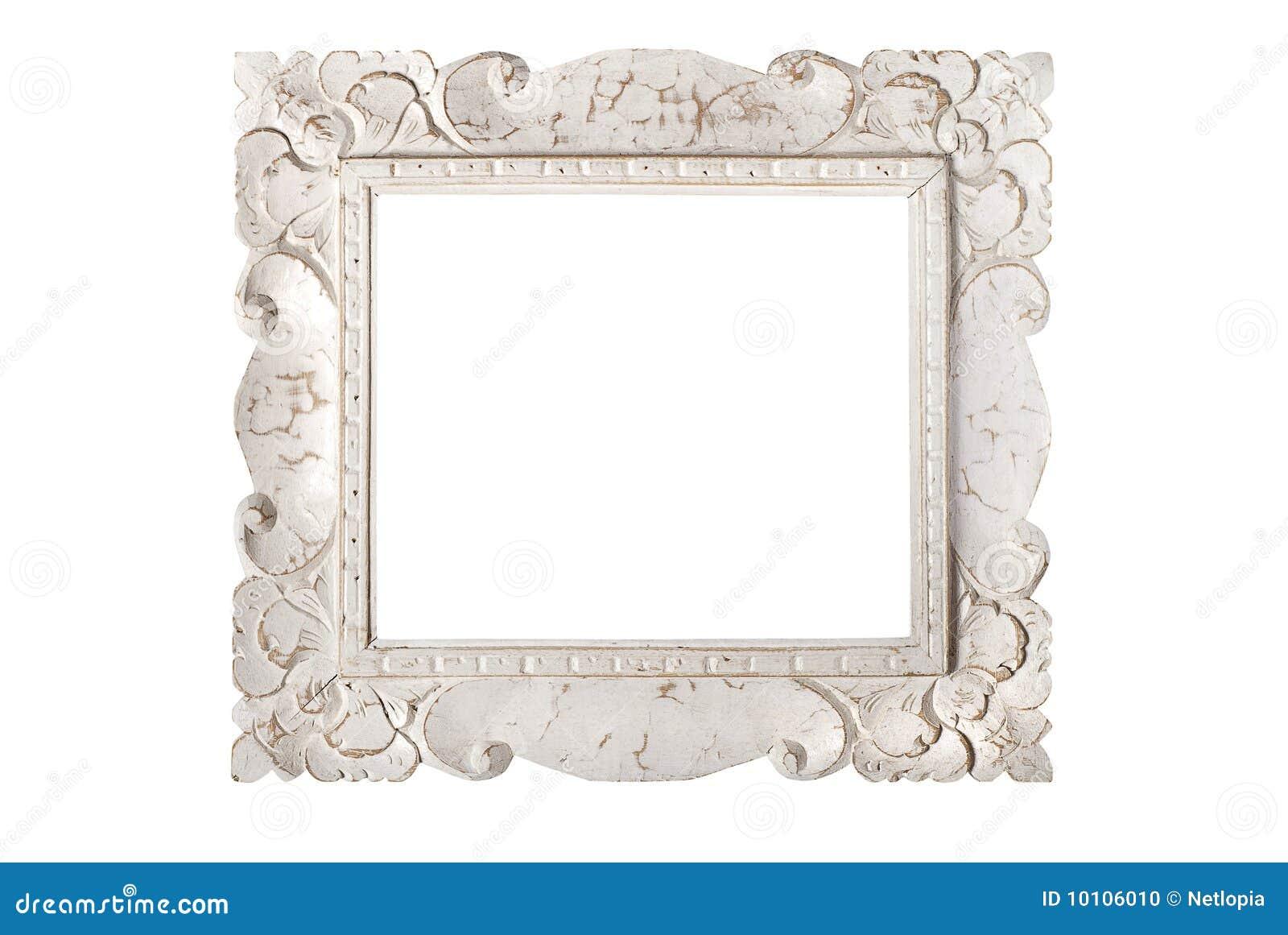 cornice bianca fotografia stock immagine di pitture