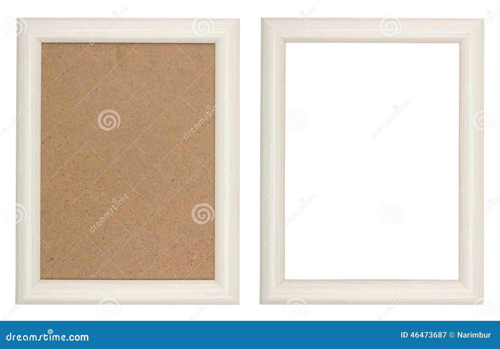 Cornice bianca di legno immagine stock immagine di bianco for Cornice bianca foto