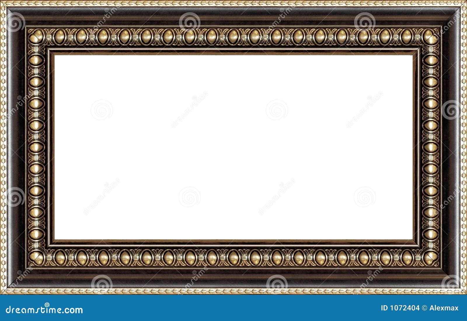 Cornice Di Legno Antica Immagini Stock - Immagine: 1072404