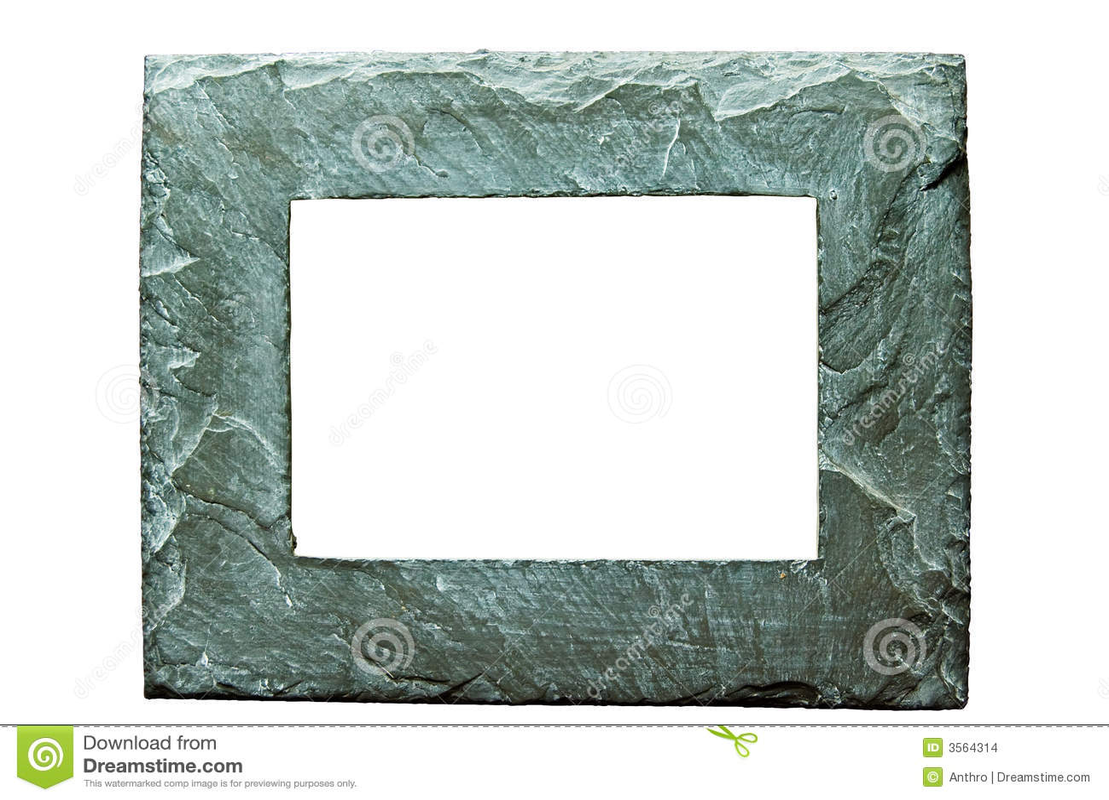 Cornice di pietra approssimativa su w