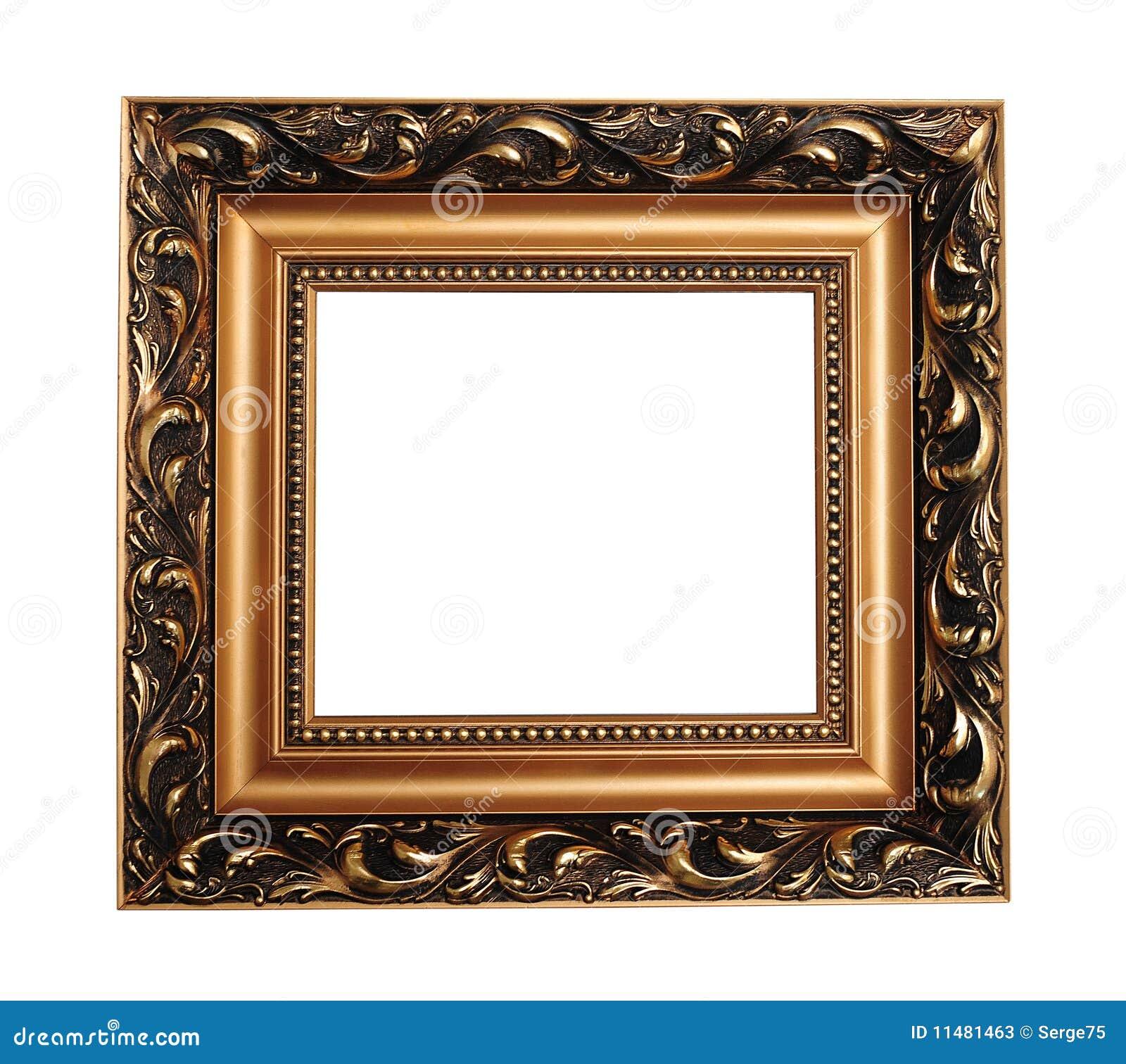 Cornice Vuota Antica Fotografie Stock - Immagine: 11481463