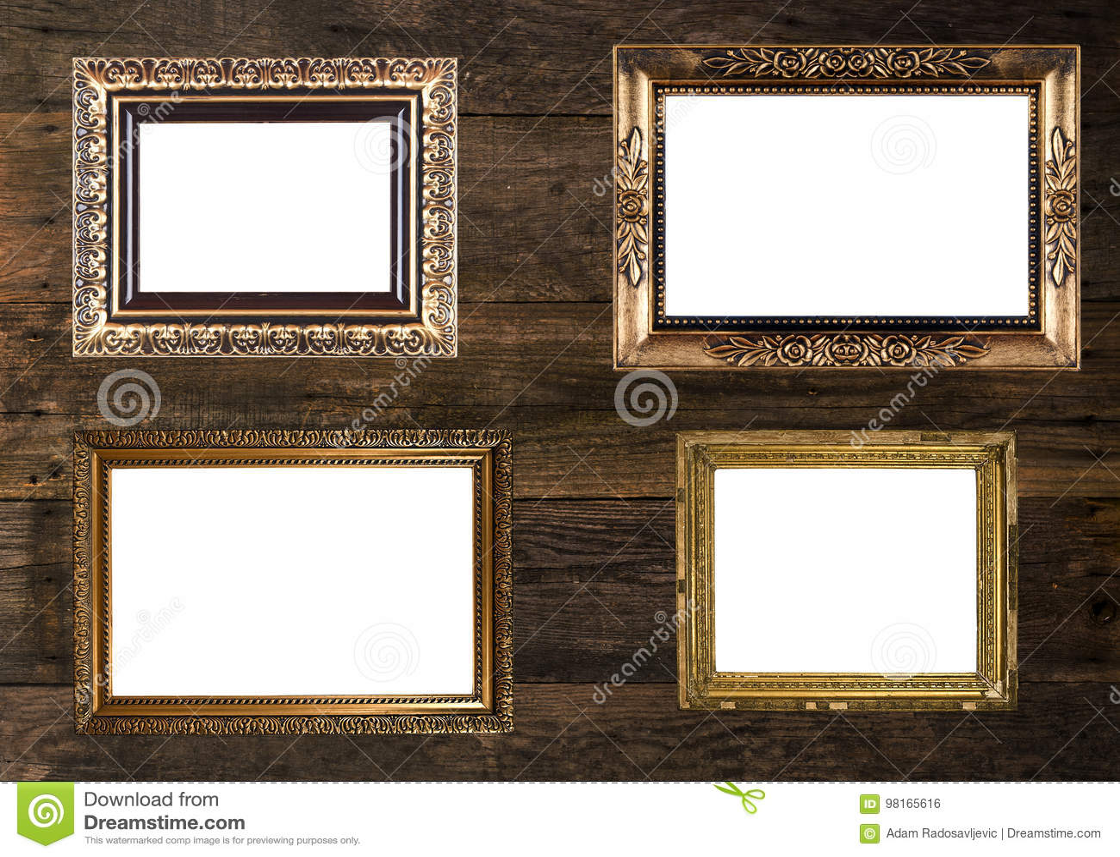 Parete di cornici chic wood pareti pavimenti in stile in stile eclettico di adp ikea cornici - Cornici per finestre in mattoni ...