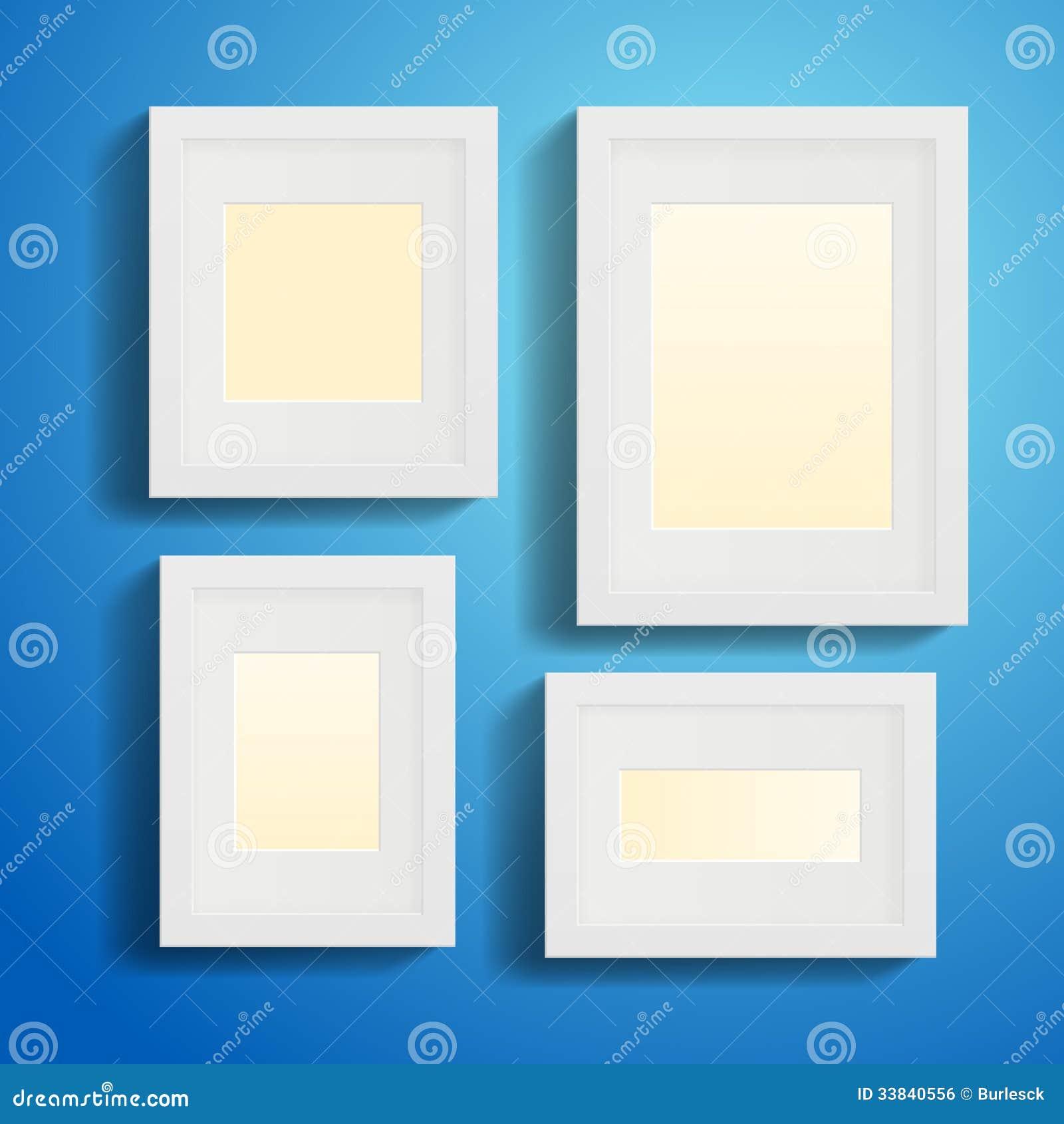 Cornici moderne immagine stock libera da diritti for Cornici bianche