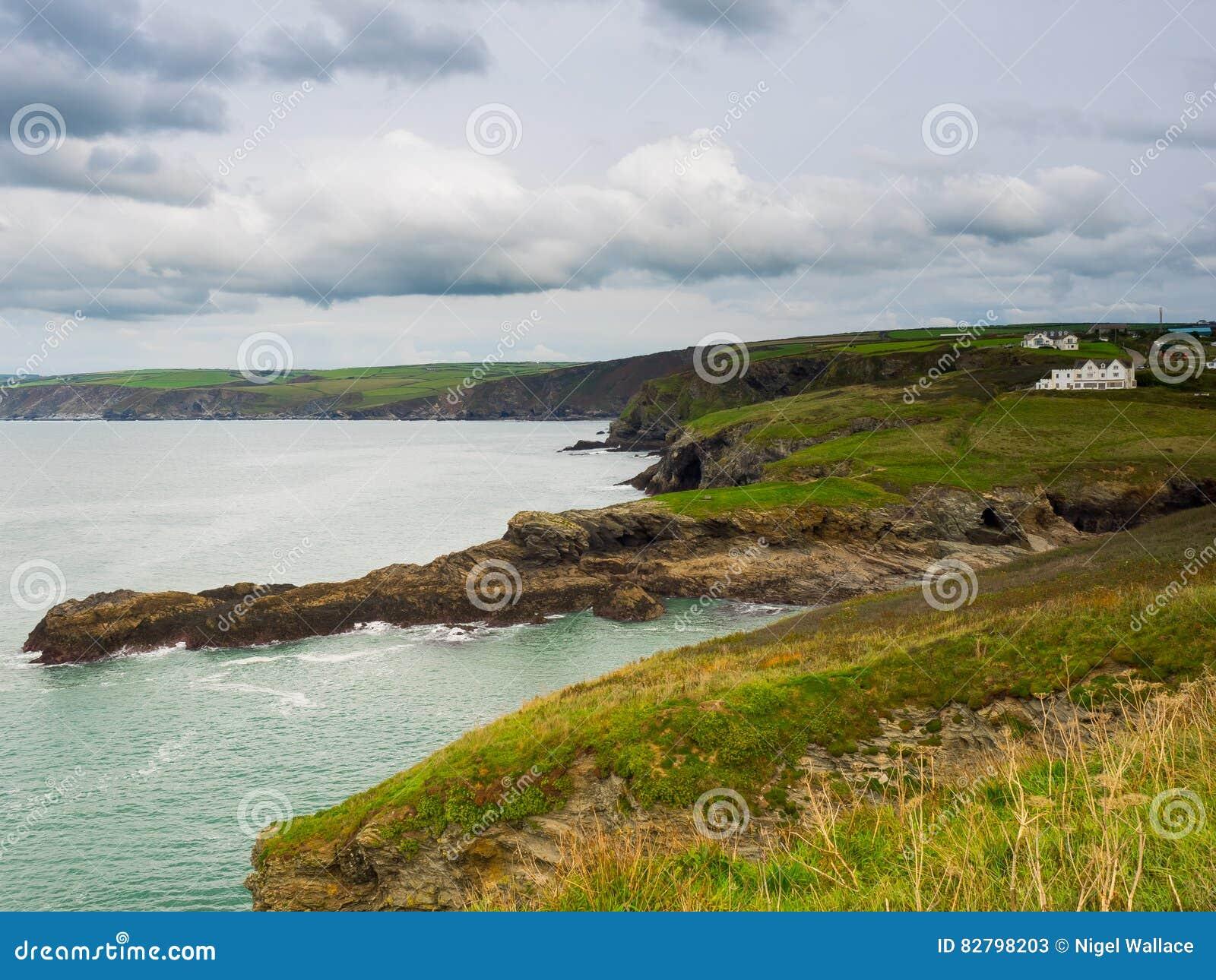 Cornwall kustlinje