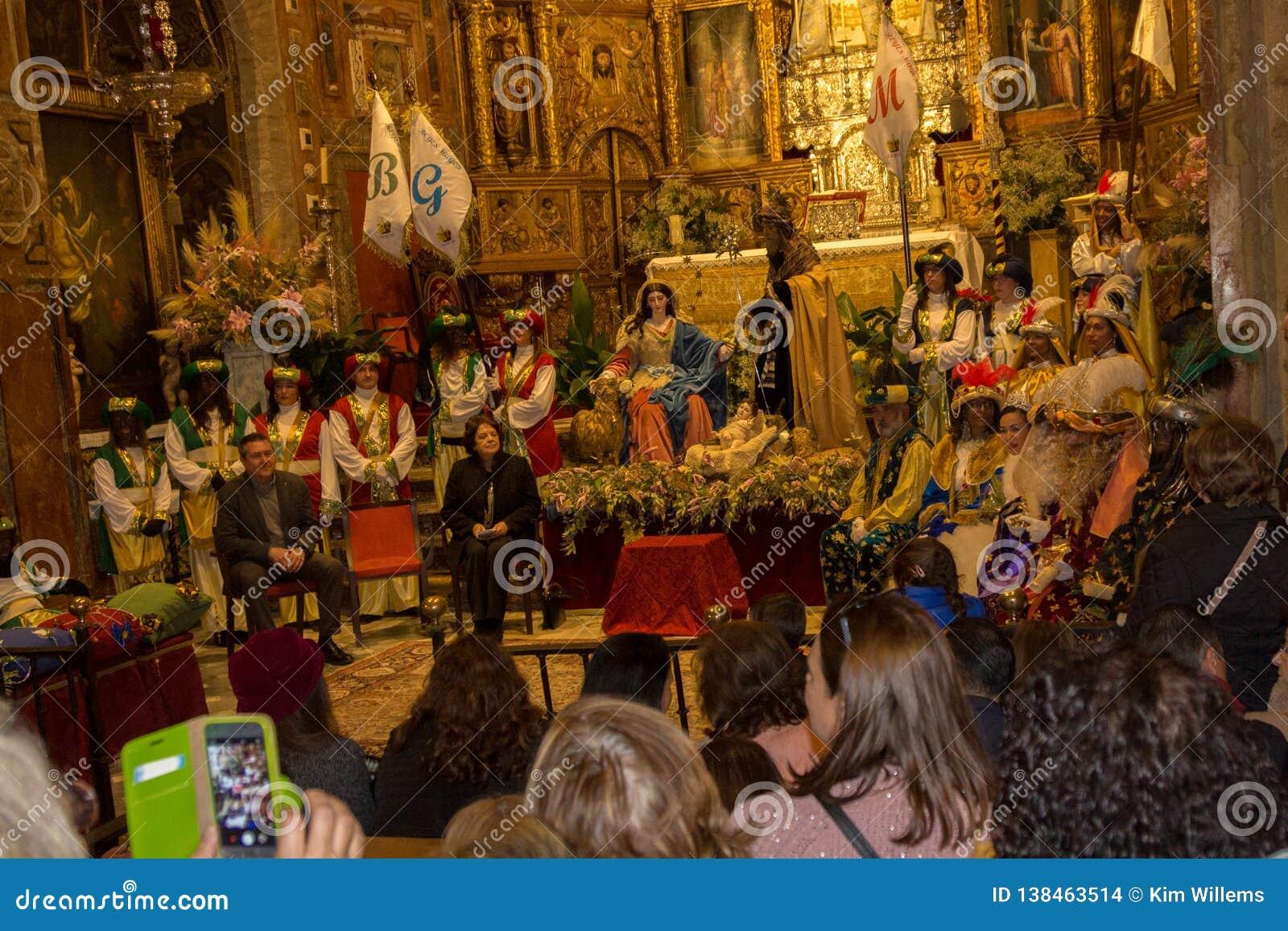 Coroação de Reyes Magos