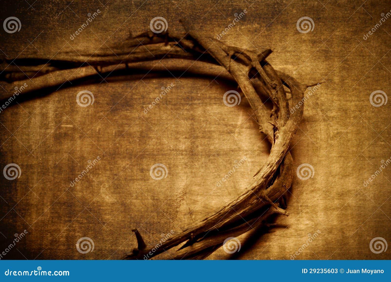 Download Coroa Do Jesus Cristo De Espinhos Imagem de Stock - Imagem de catholicism, paixão: 29235603