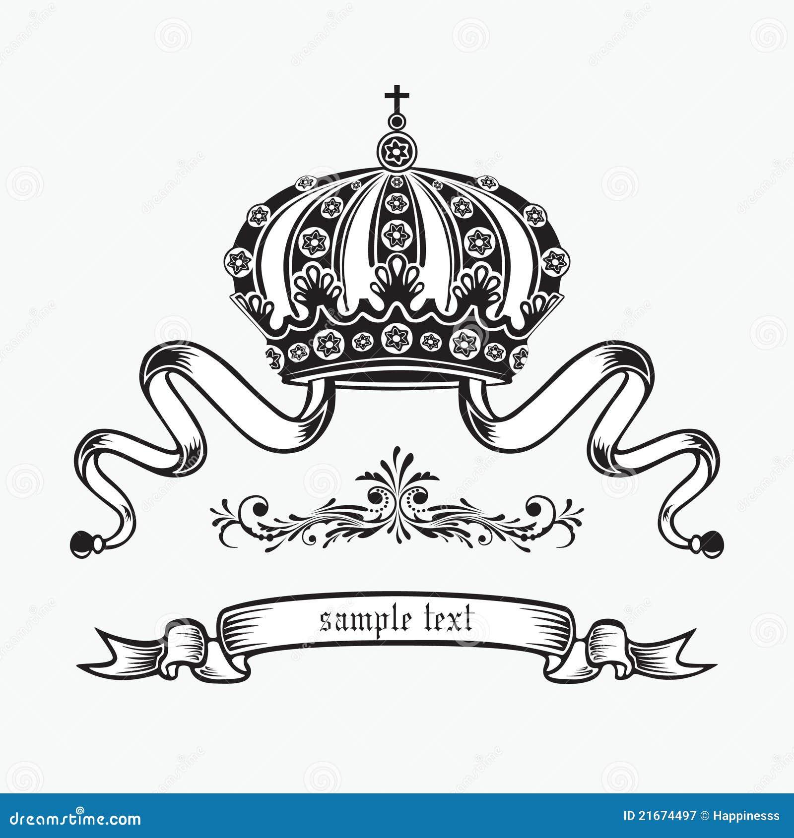 coroa do rei ilustra231227o do vetor ilustra231227o de imperial