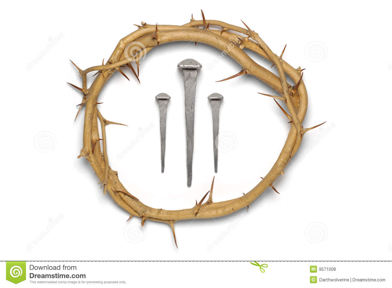 corona de espinas con 3 clavos Crown of Thorns Silhouette Crown of Thorns Drawing