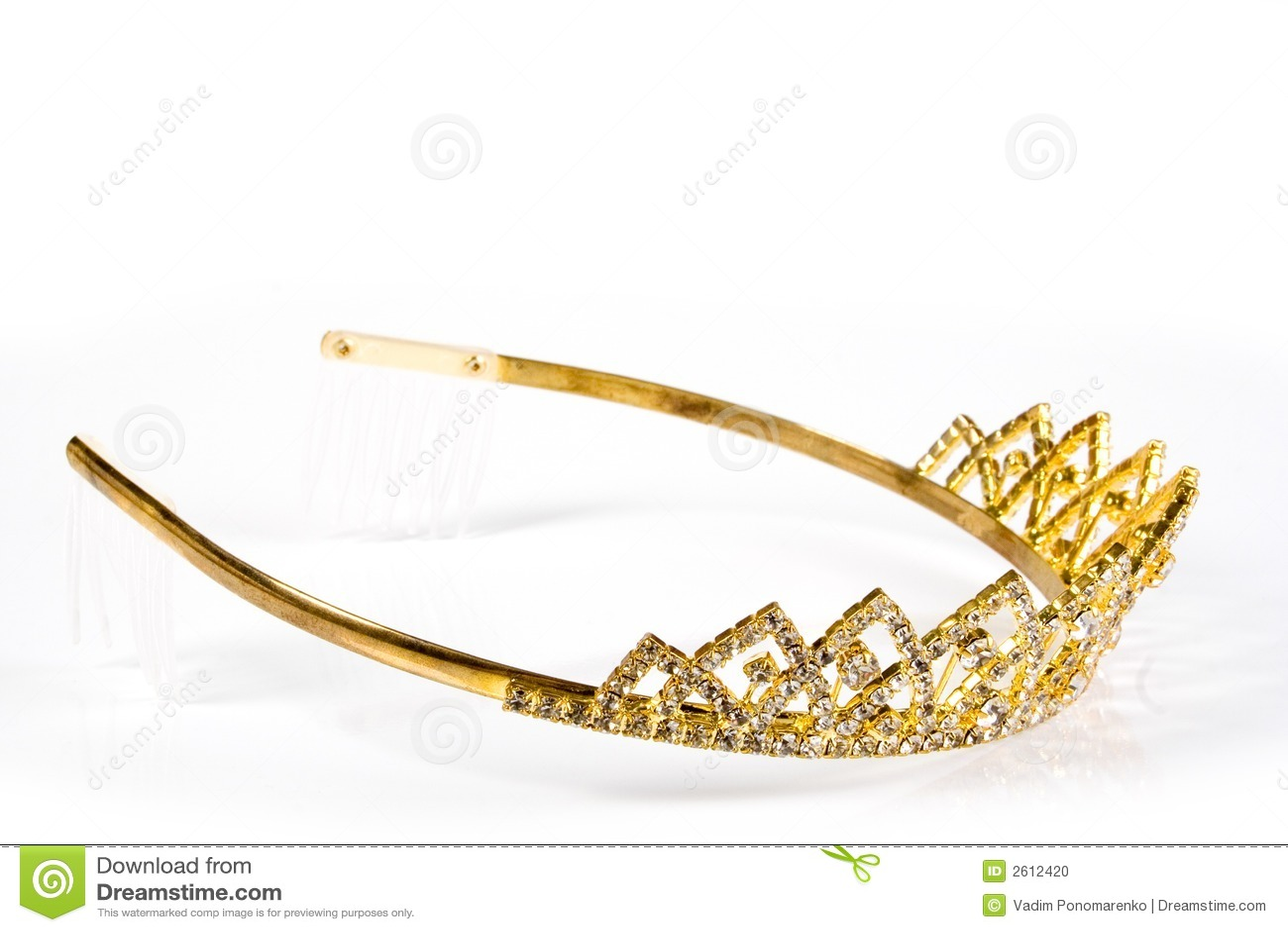 Corona De La Reina Foto De Archivo. Imagen De Belleza