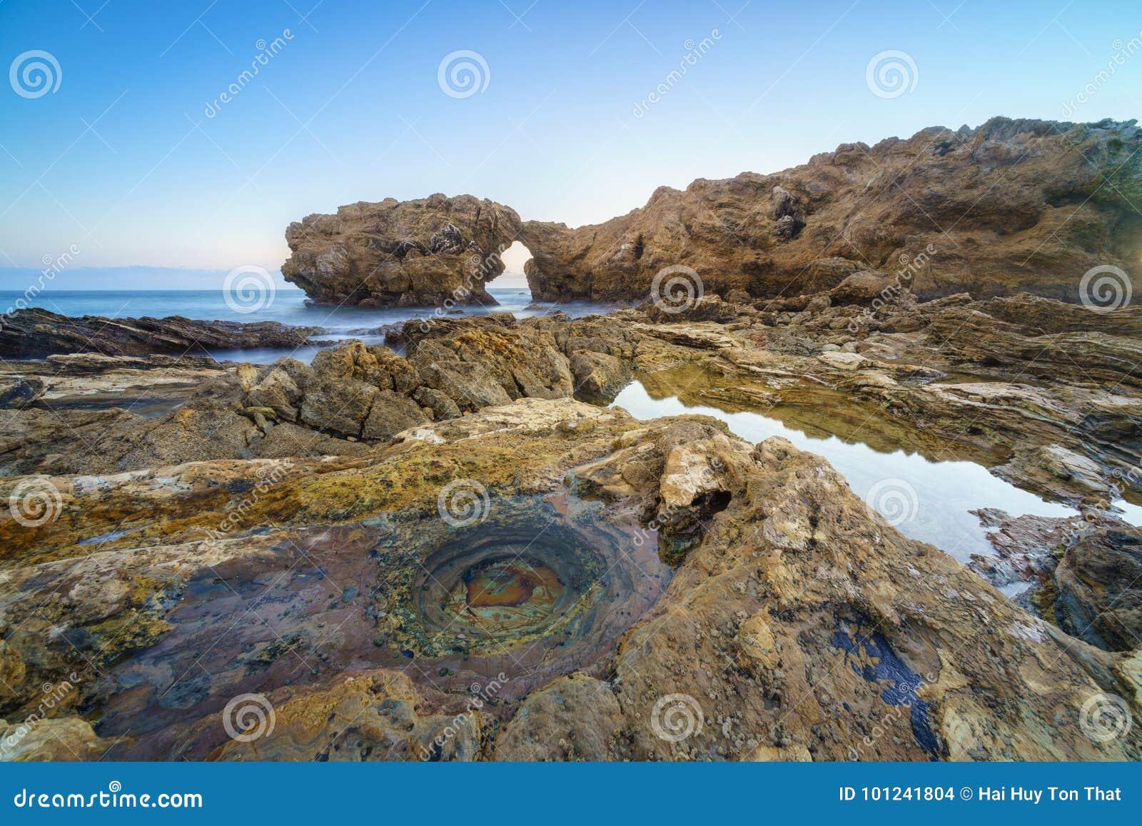 Corona Del Mar Jump Rock, California