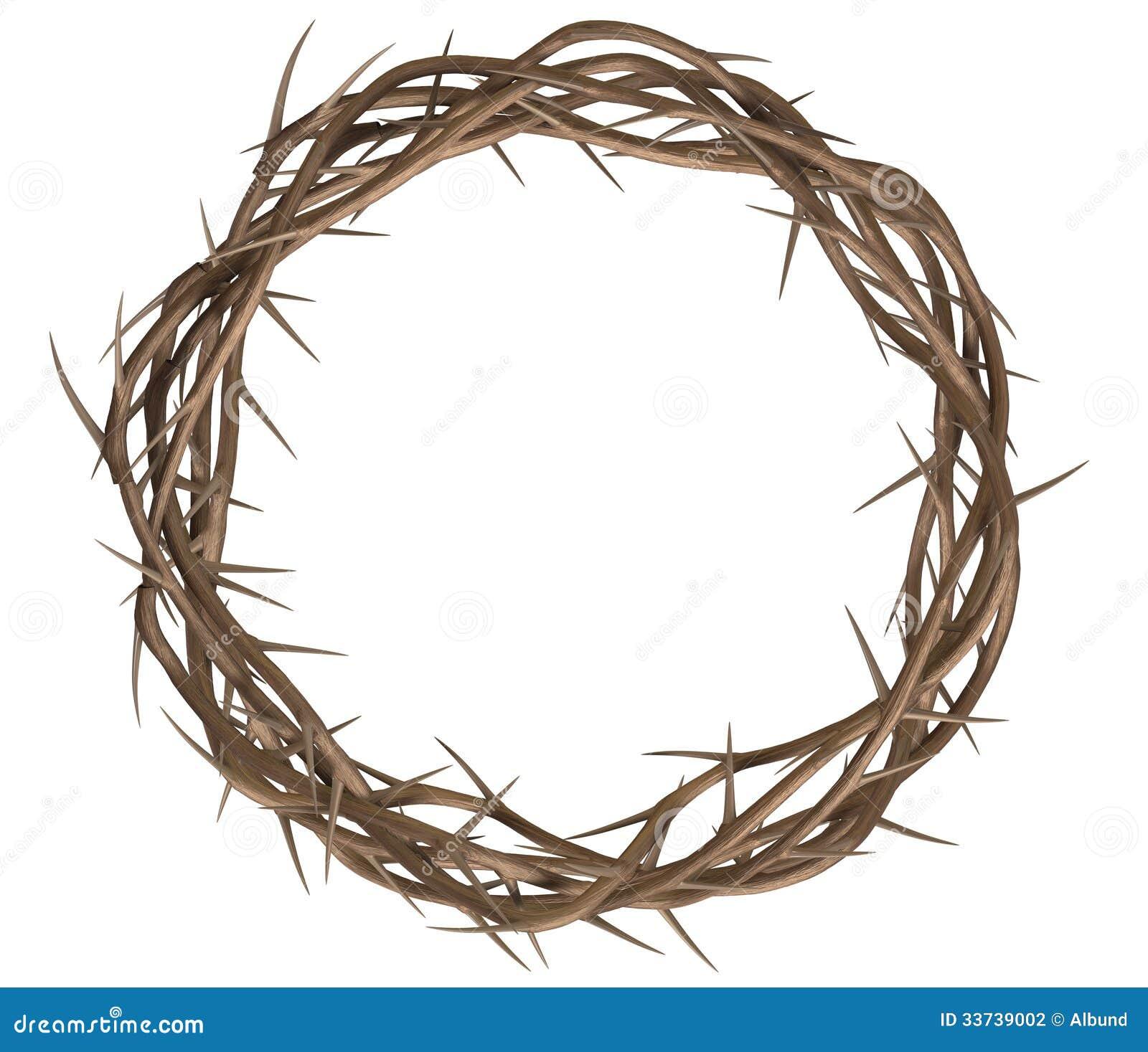 Corona del top de las espinas