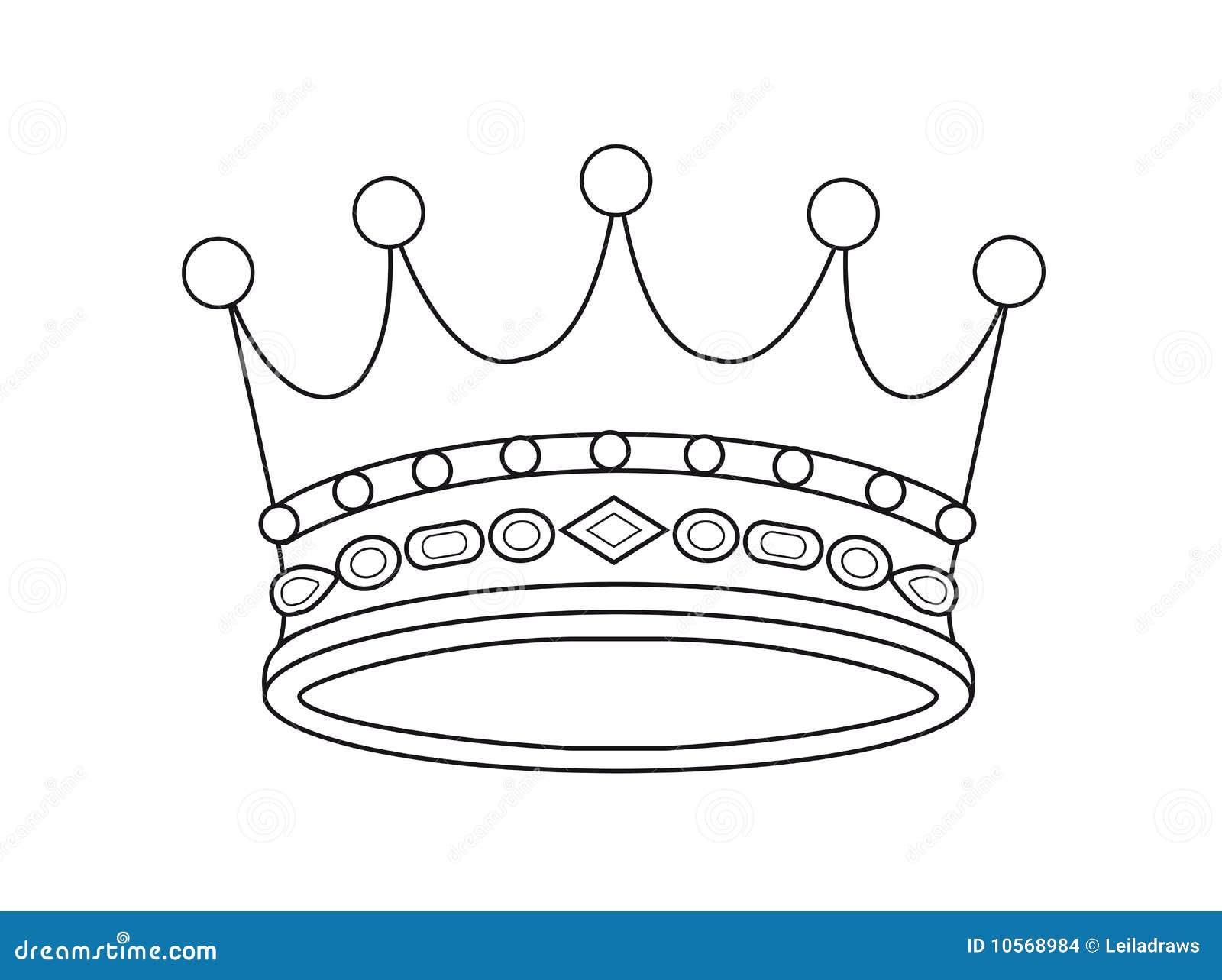 Corona Del Vector Stock De Ilustración Ilustración De Coronación