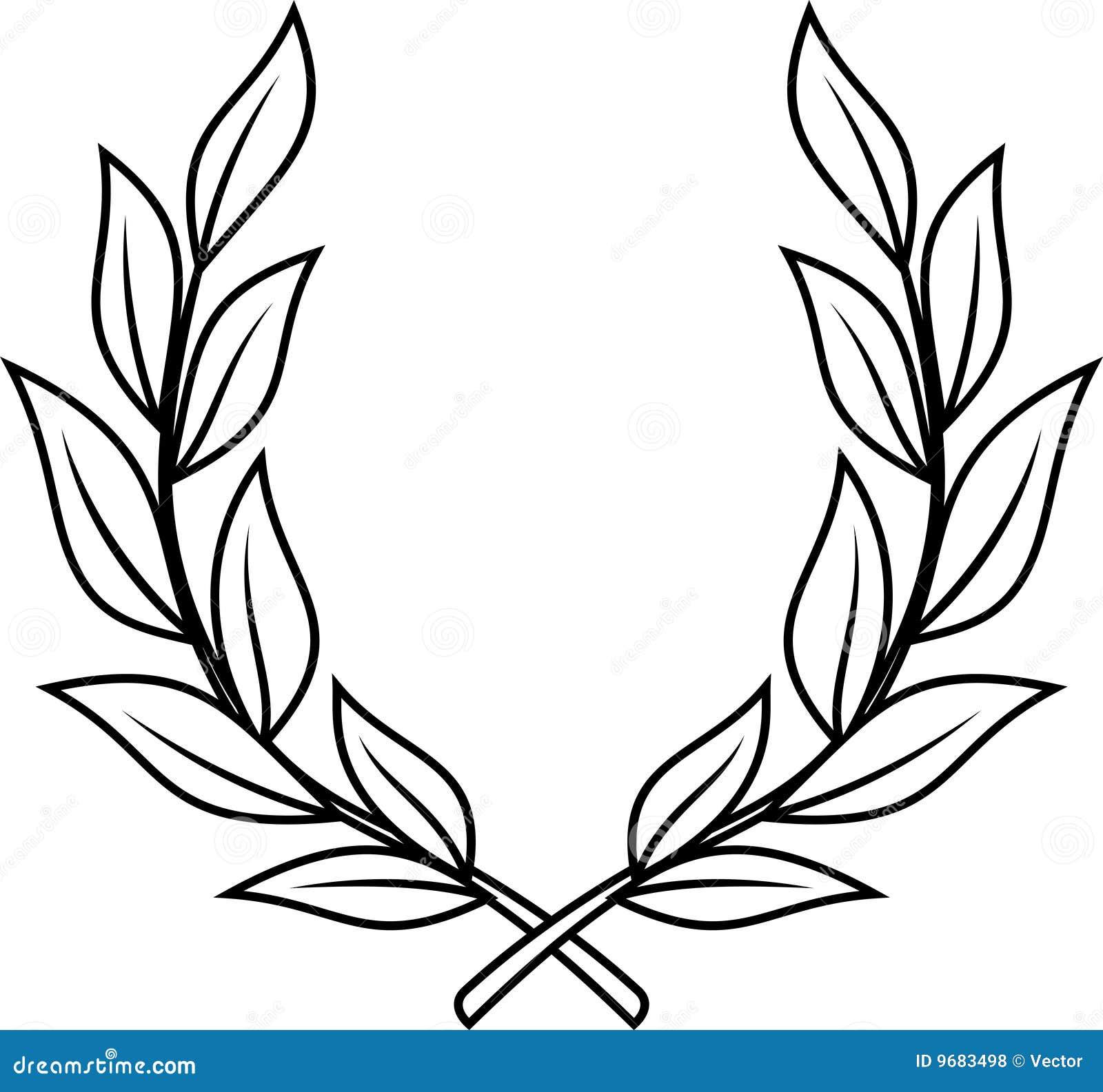 Corona dell alloro (vettore)