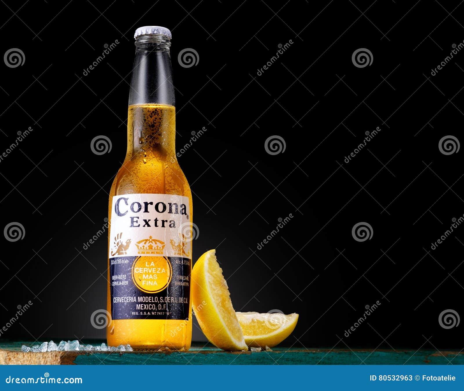 Corona Extra, une des bières mieux vendues dans le monde entier