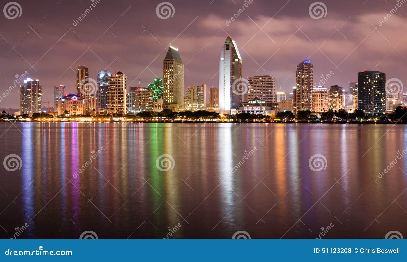 Coronado De última Hora San Diego Bay Downtown City Skyline Foto De