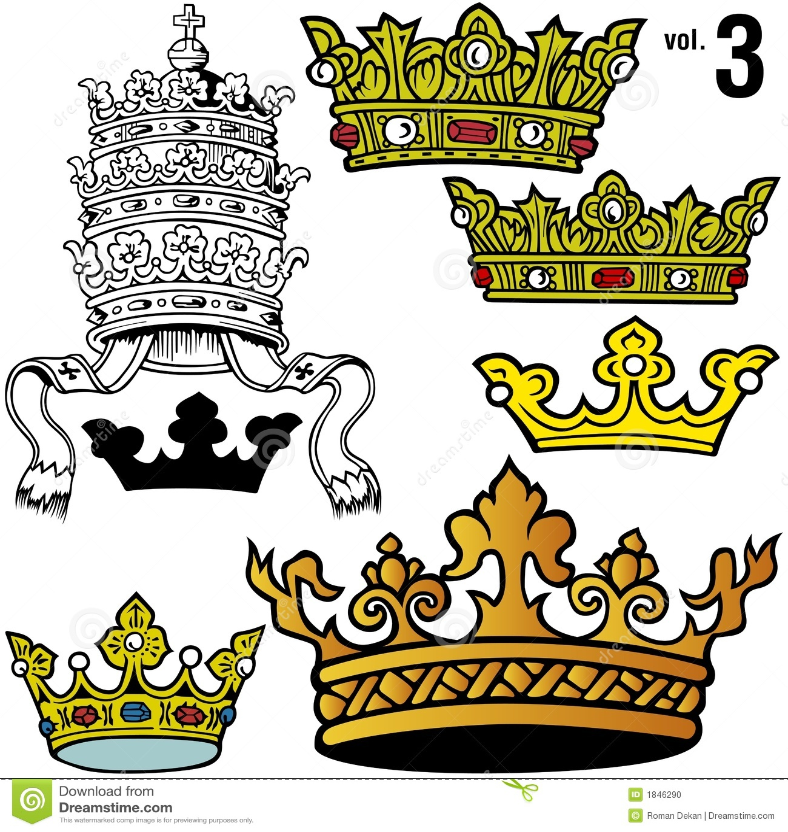 Coronas reales vol.3