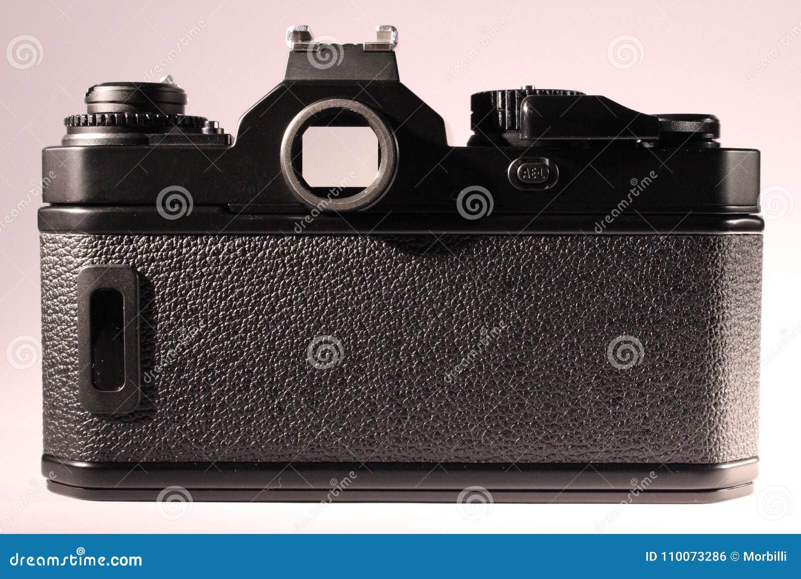 Corpo da câmera análogo, lado traseiro