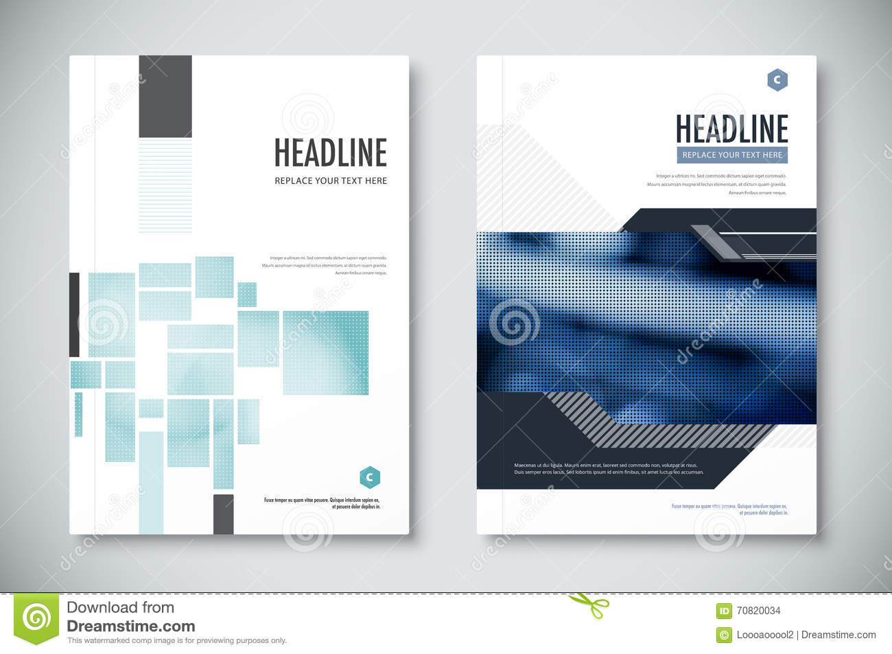 Corporate Annual Report Template Design Corporate Business