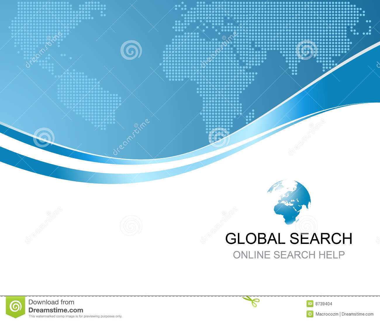 ... Background With Logo Of Global Search Stock Images - Image: 8739404: www.dreamstime.com/stock-images-corporate-background-logo-global...