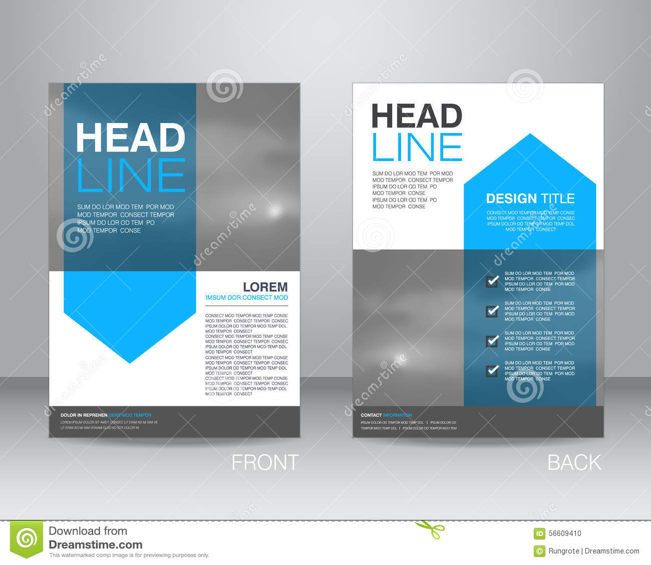 Corporate brochure flyer design layout template in a4 size with bleed - Corporate Brochure Flyer Design Layout Template In A4 Size