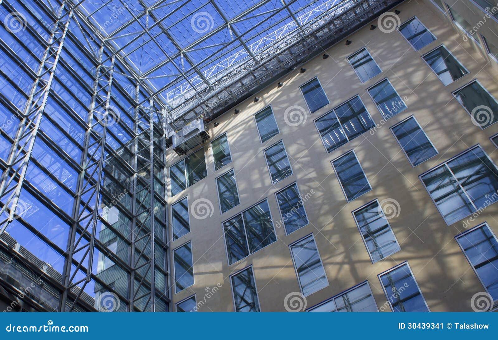 Corporate Business Building Corporate business building