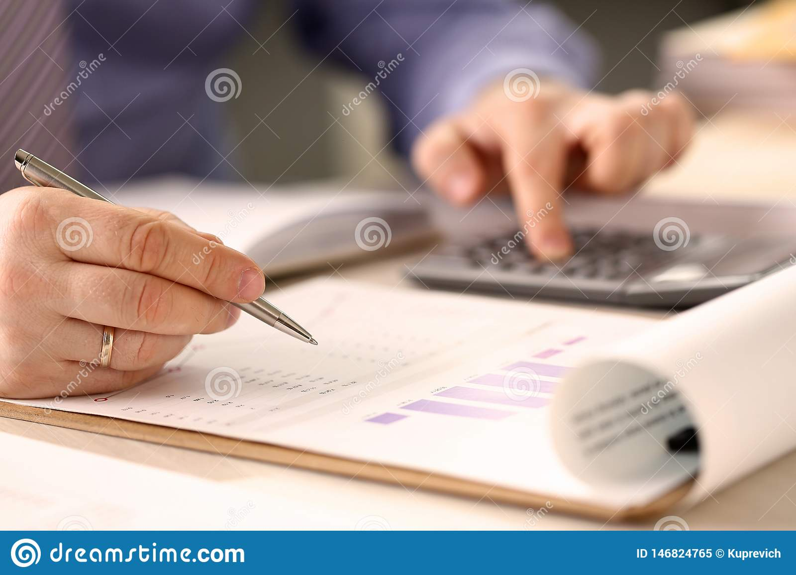 Corporate Business Financing Accounting Concept