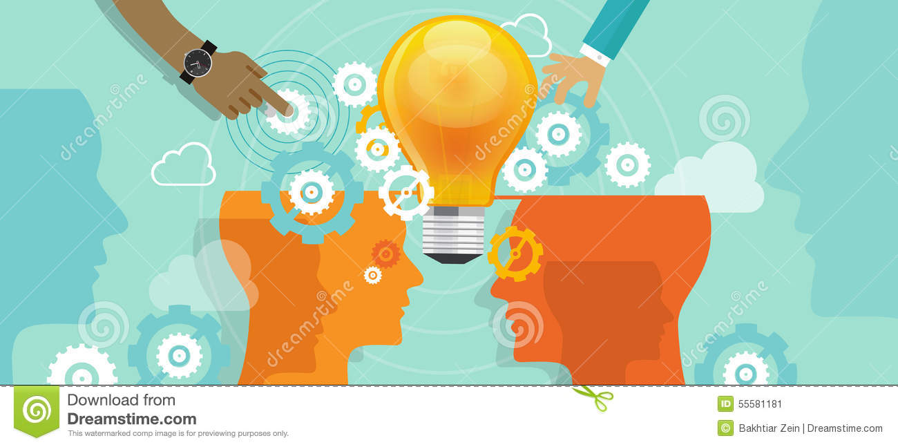 Corporate company innovation collaboration people