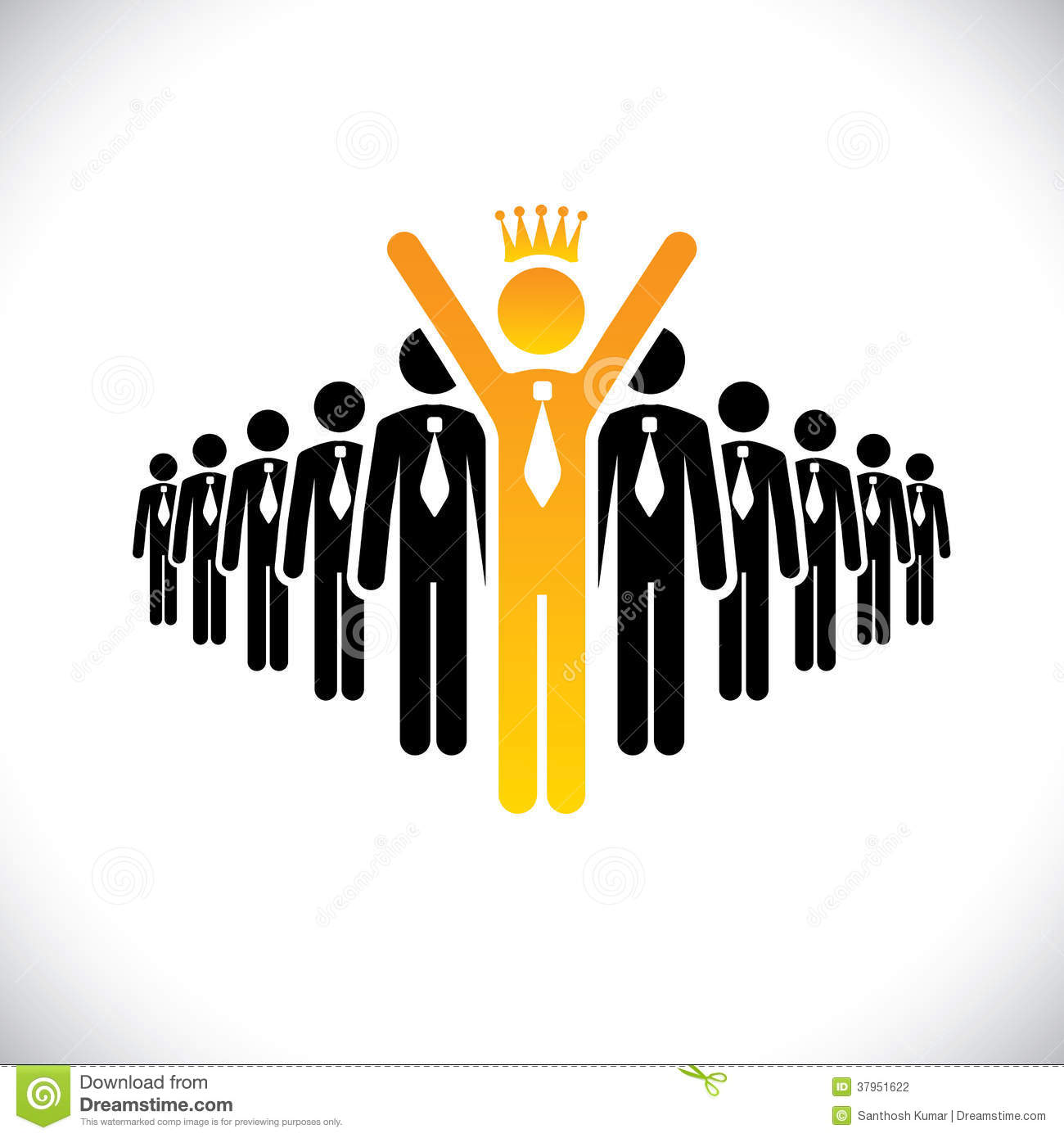 Stock Photography Corporate Employee Beating  petition Success Vector Concept Graphic Illustration Also Represents Achievement Climbing Image37951622 on award ceremony background