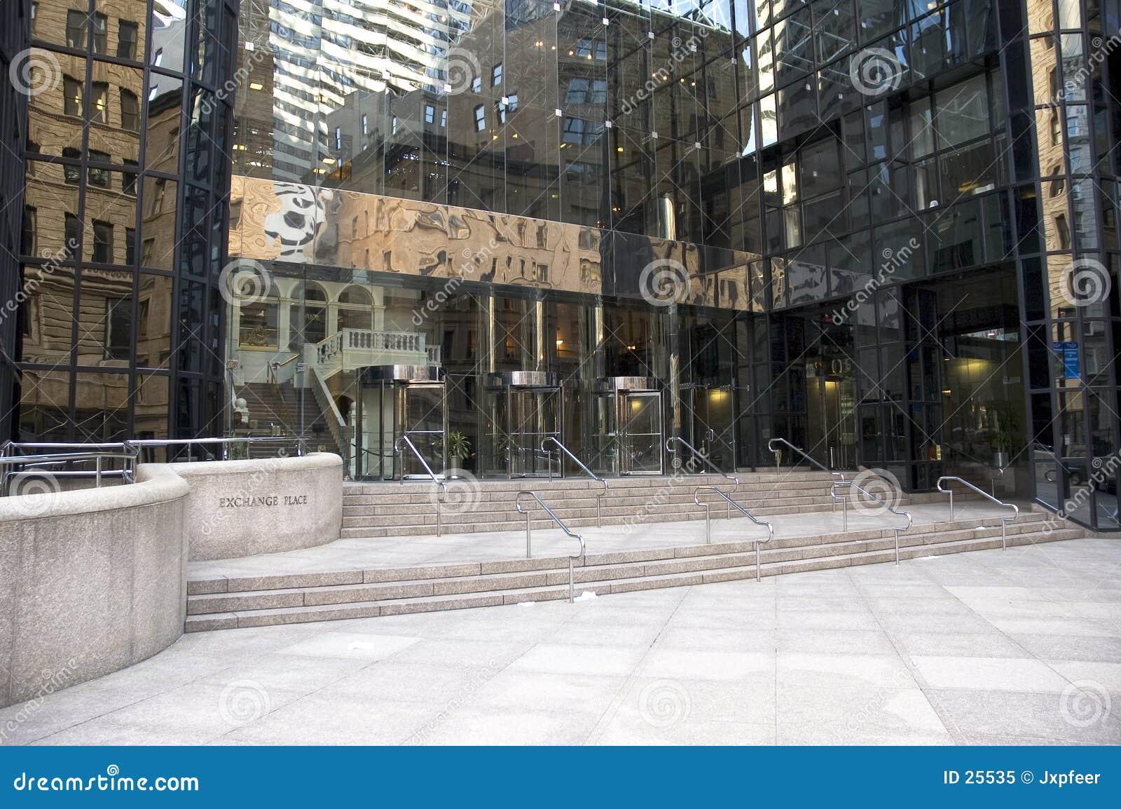 Corporate entrance