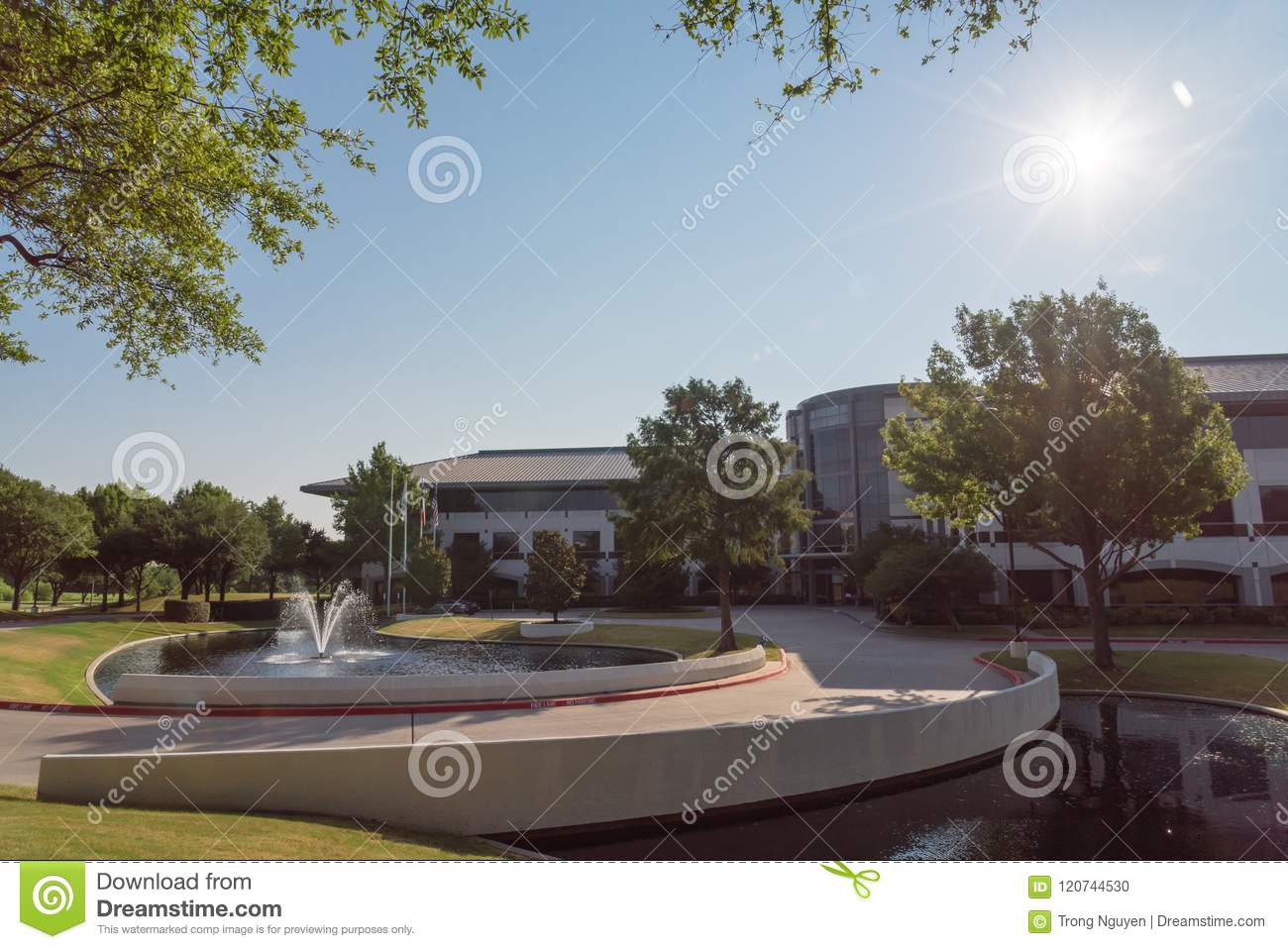Corporate headquarters campus of Keurig Dr Pepper in Plano, Texas, USA