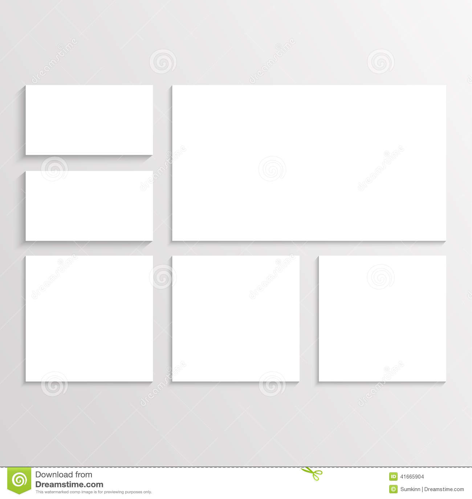 corporate identity stock vector image 41665904
