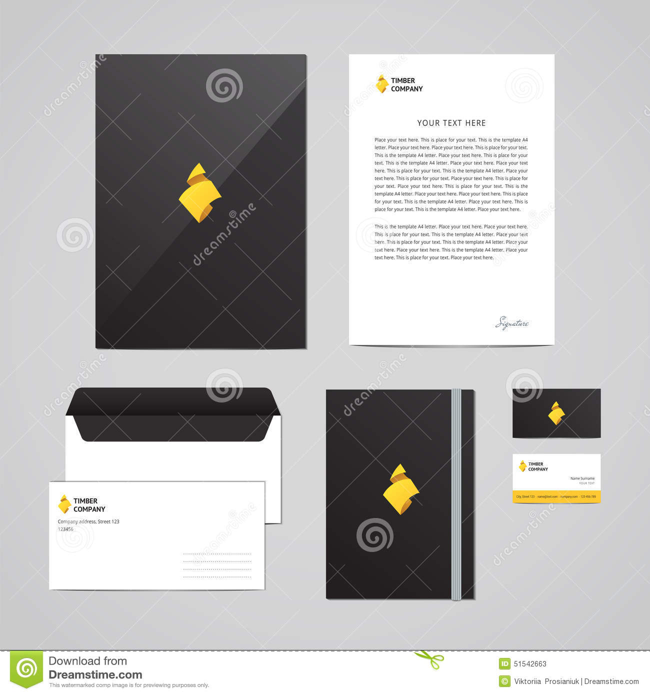 Corporate identity timber company design template perfect for your download corporate identity timber company design template perfect for your business stock vector maxwellsz