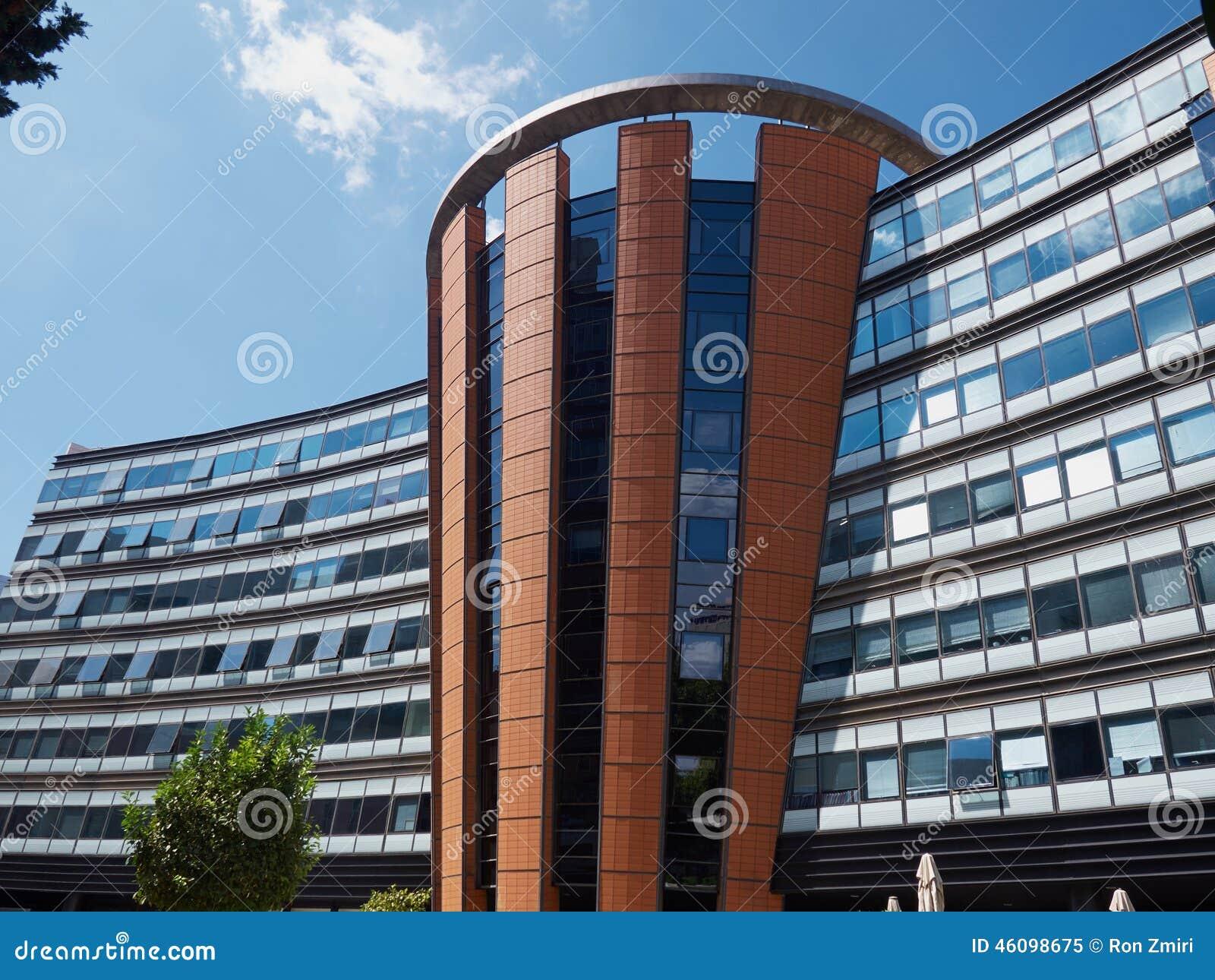 Corporate Business Building Corporate modern office