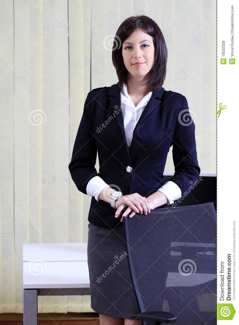 Corporate portrait of a business woman