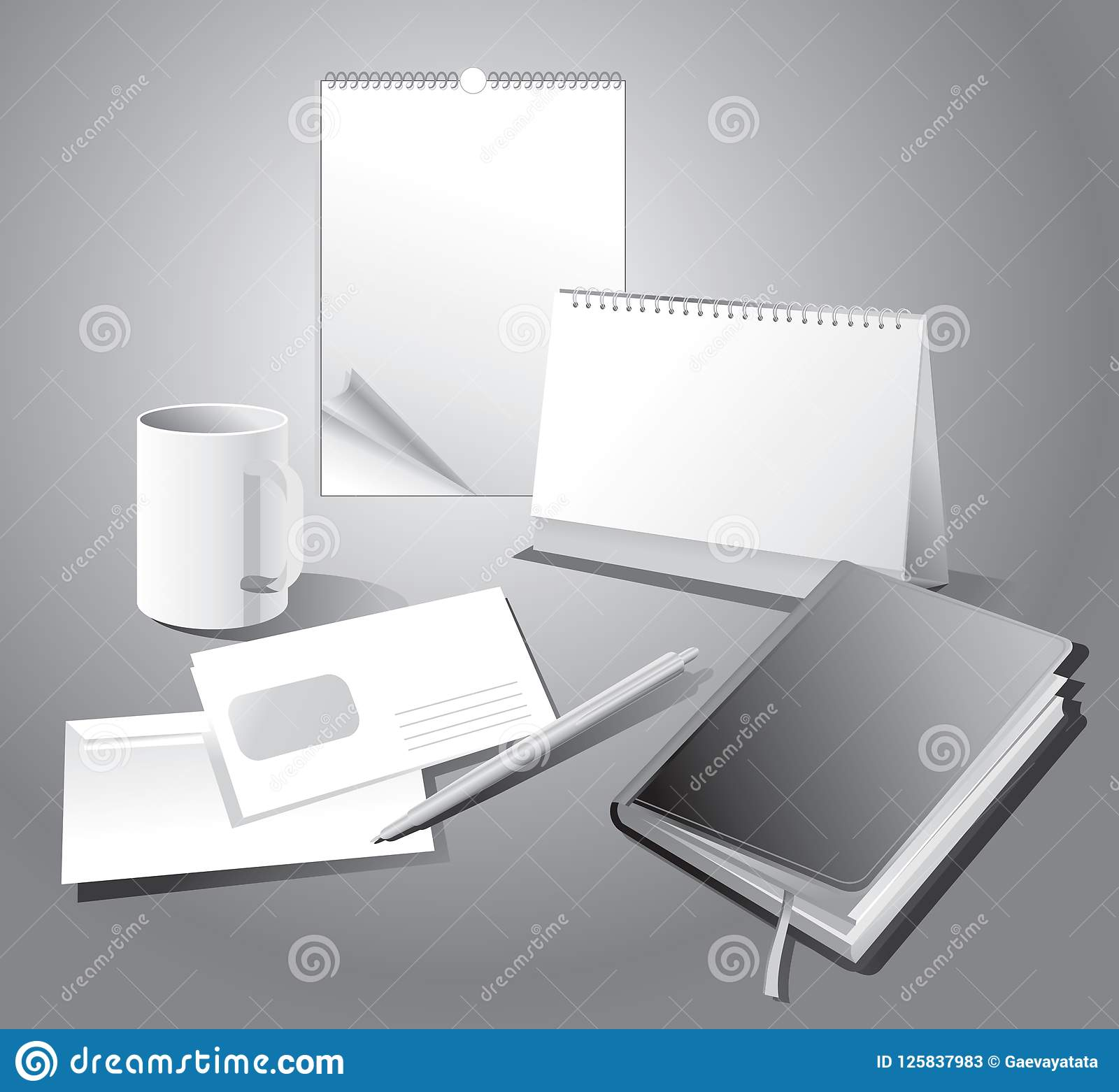 Corporate templates and calendar.