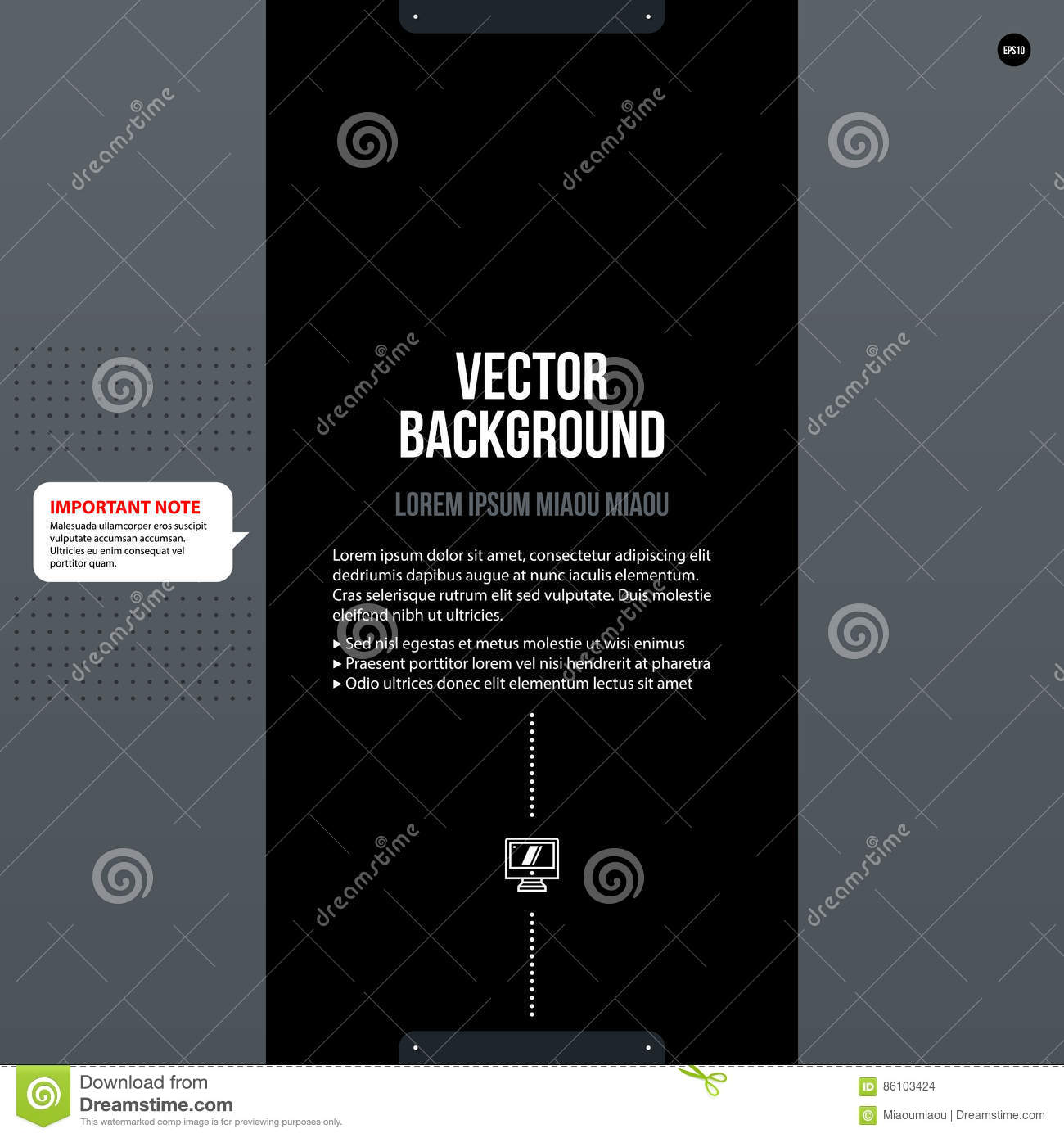 Corporate Tex Background Template Stock Vector - Illustration of hi ...