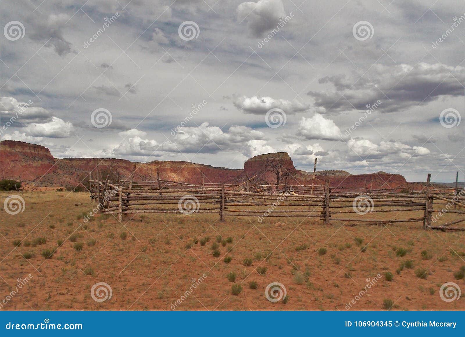 Corral de ranch de Ghost