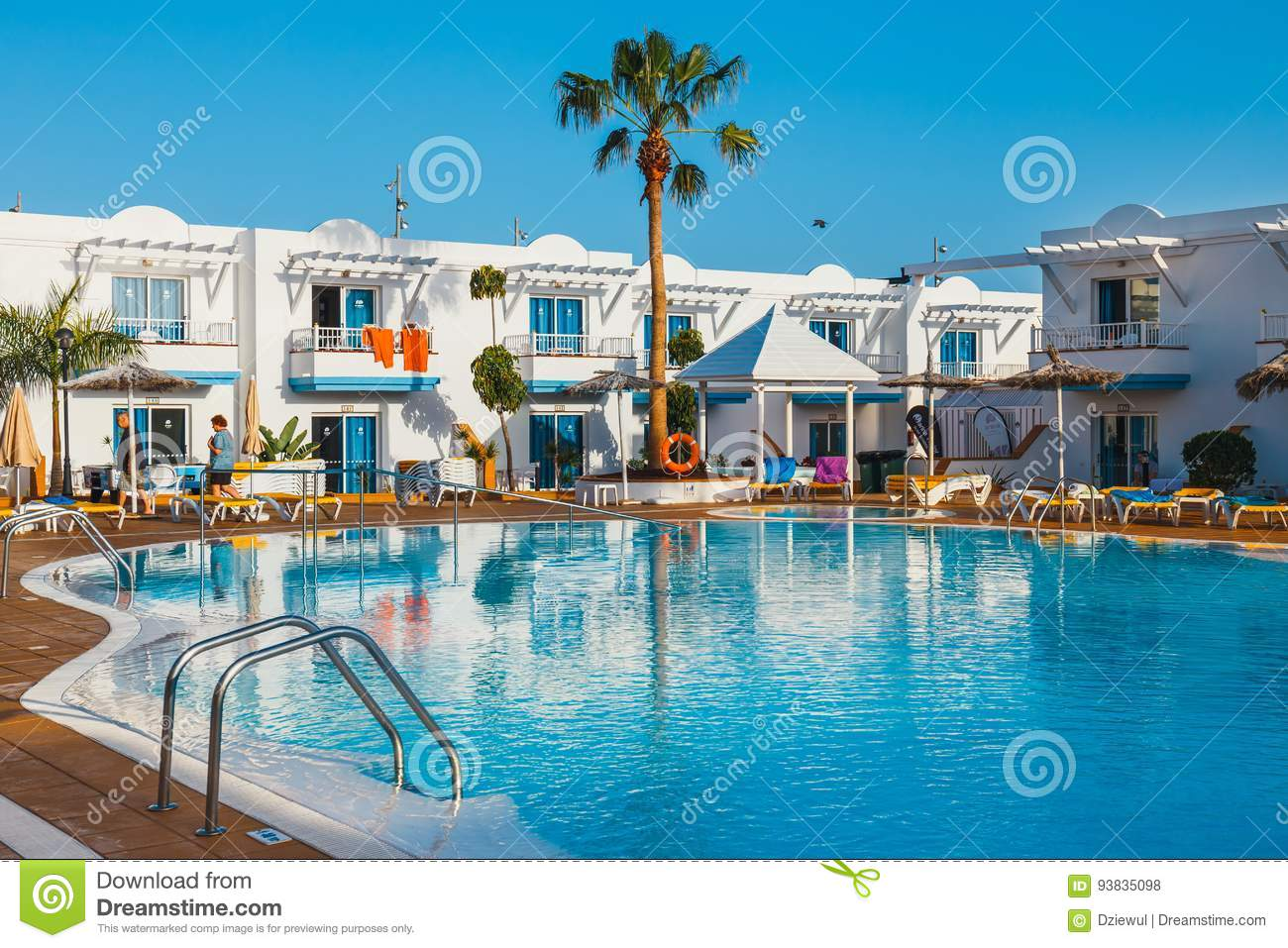 Swimming pool of the hotel complex arena hotel in - Hotels in madrid spain with swimming pool ...