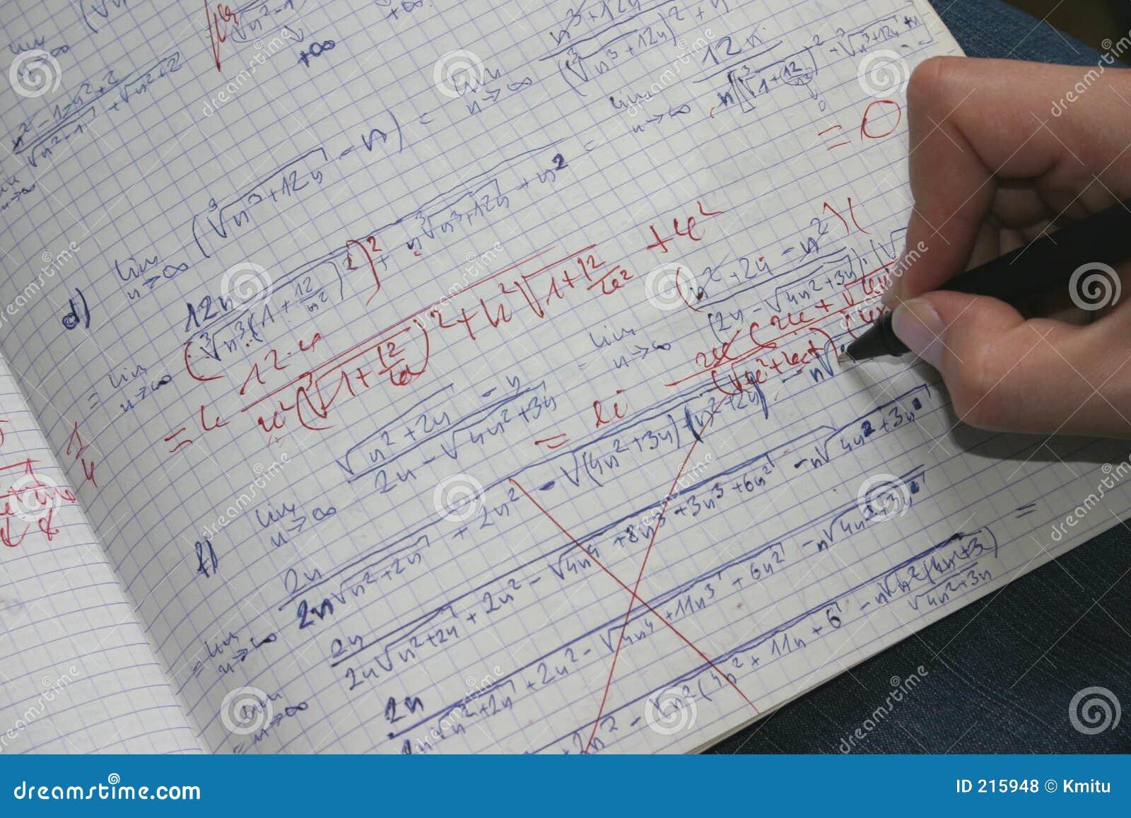 Correcting maths #2