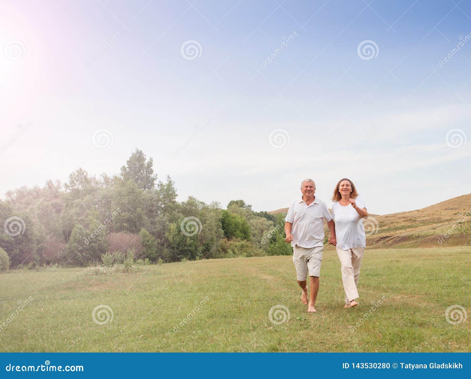 Corredor feliz dos pares