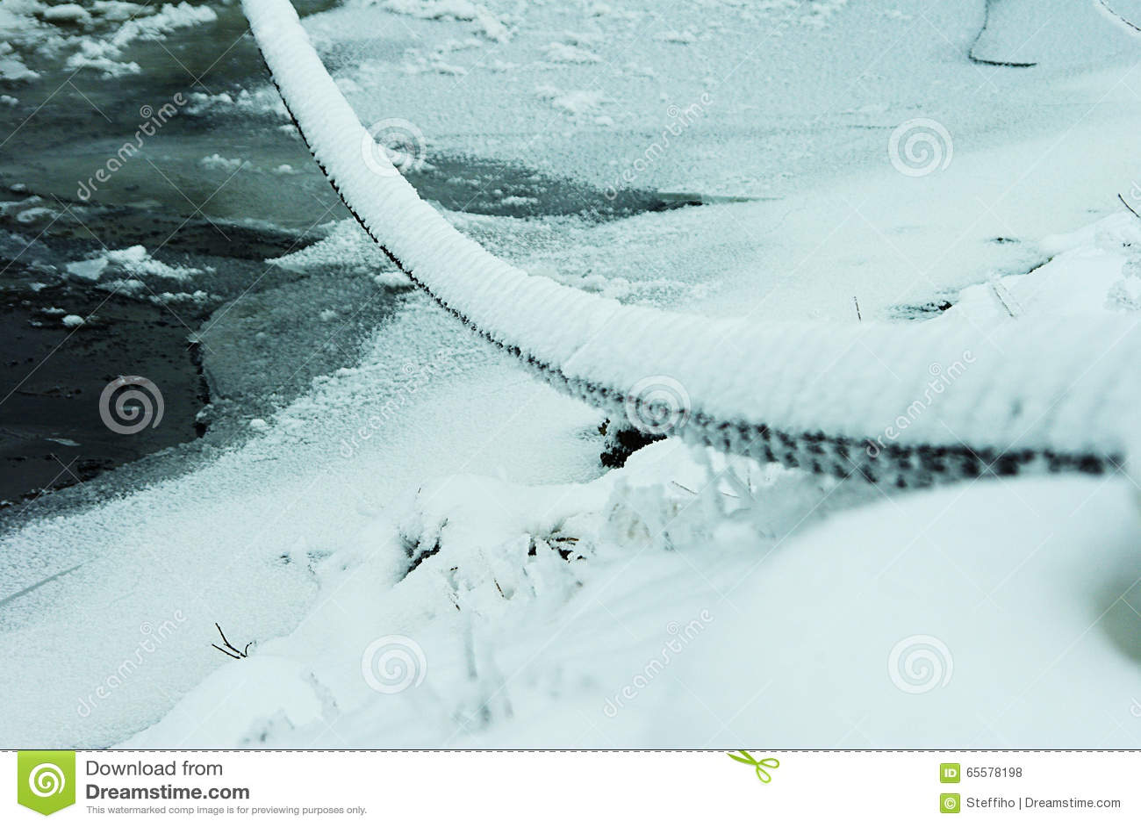 Corrente nevado