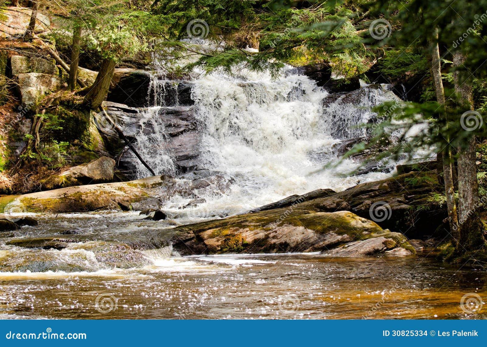 Corrente precipitante a cascata