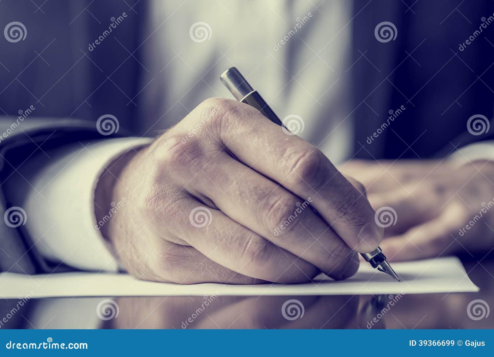 Correspondance d écriture