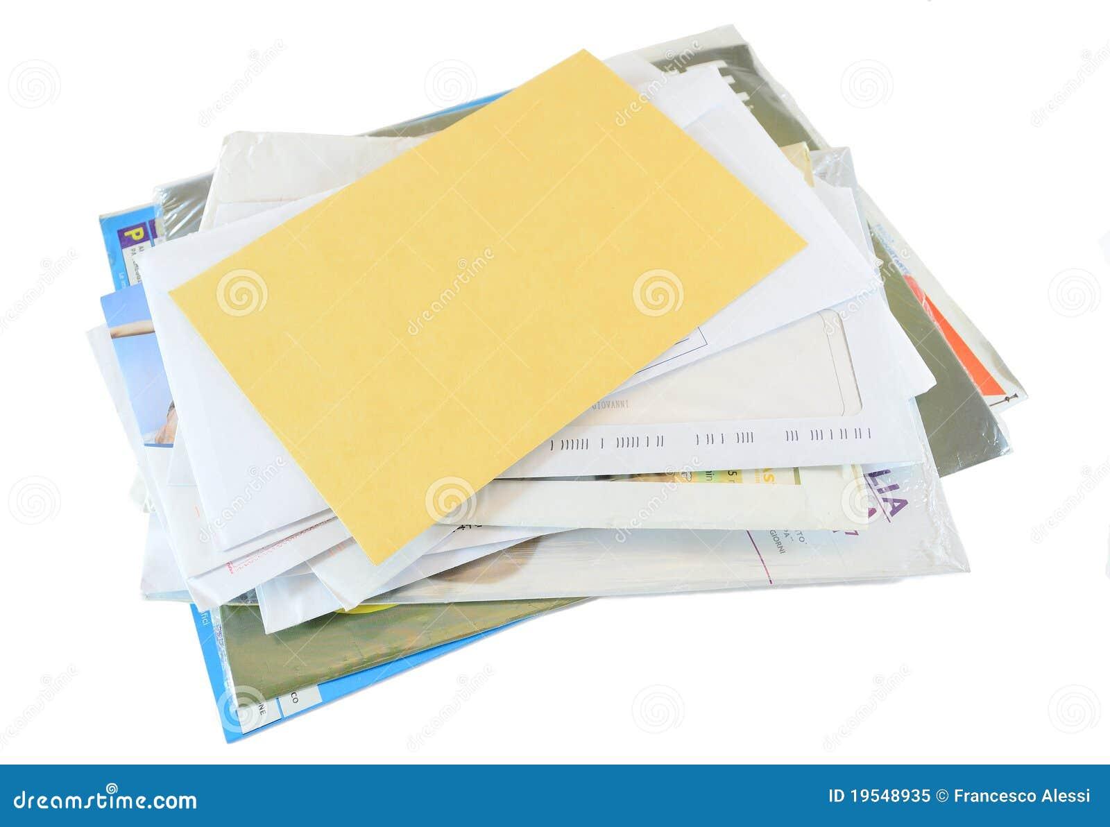 Correspondance de courrier
