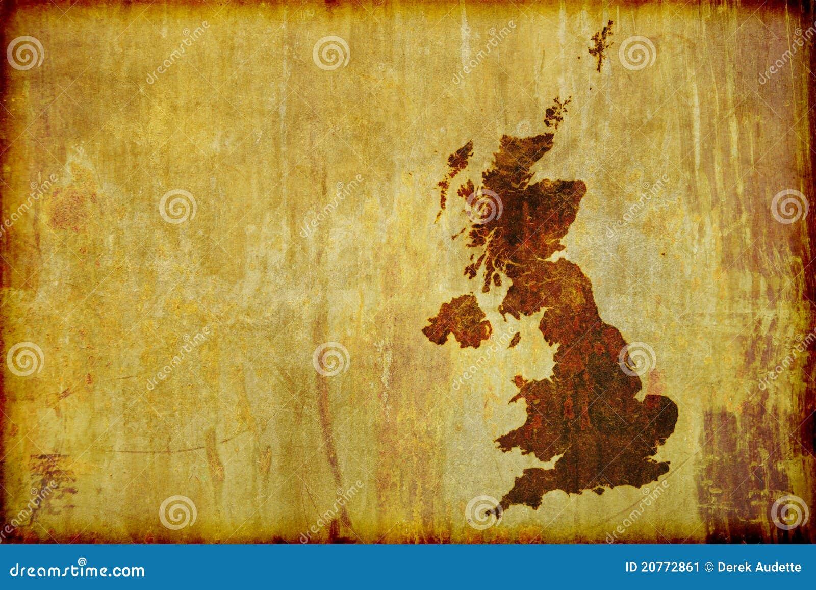 Correspondencia antigua del estilo de Gran Bretaña