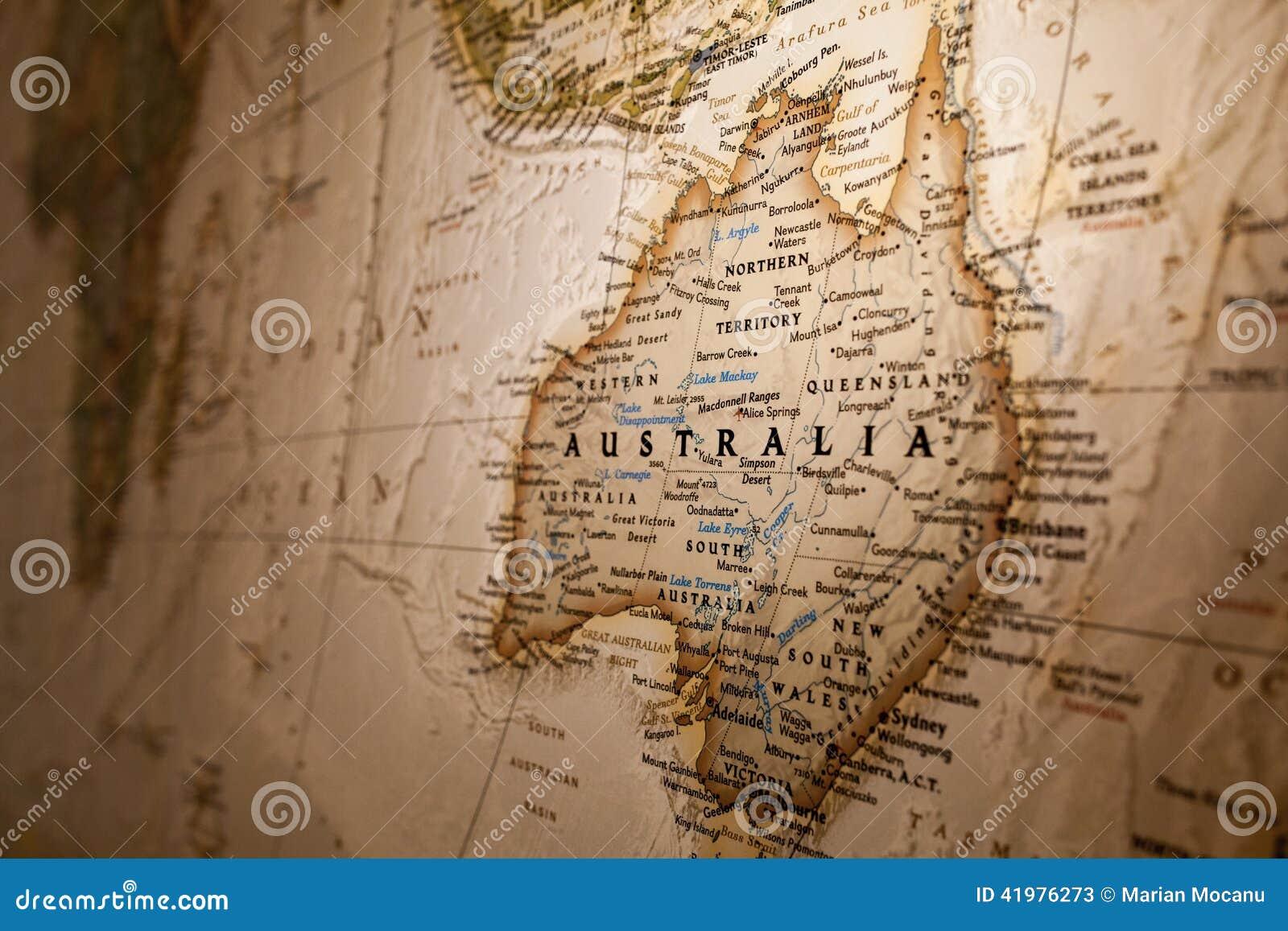 Correspondencia de Australia