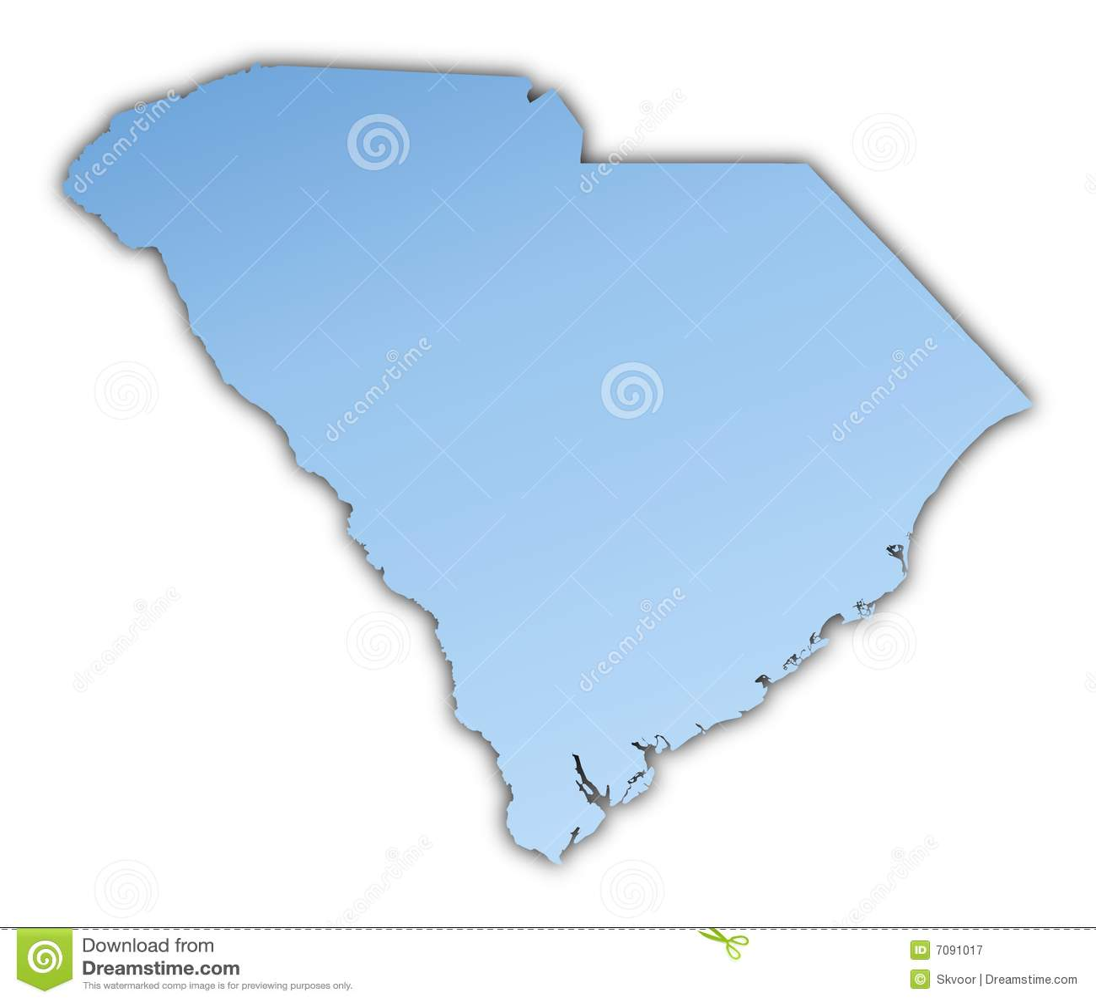 Correspondencia de Carolina del Sur (los E.E.U.U.)