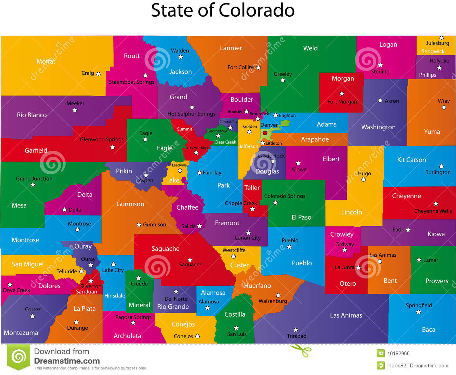 Correspondencia de Colorado