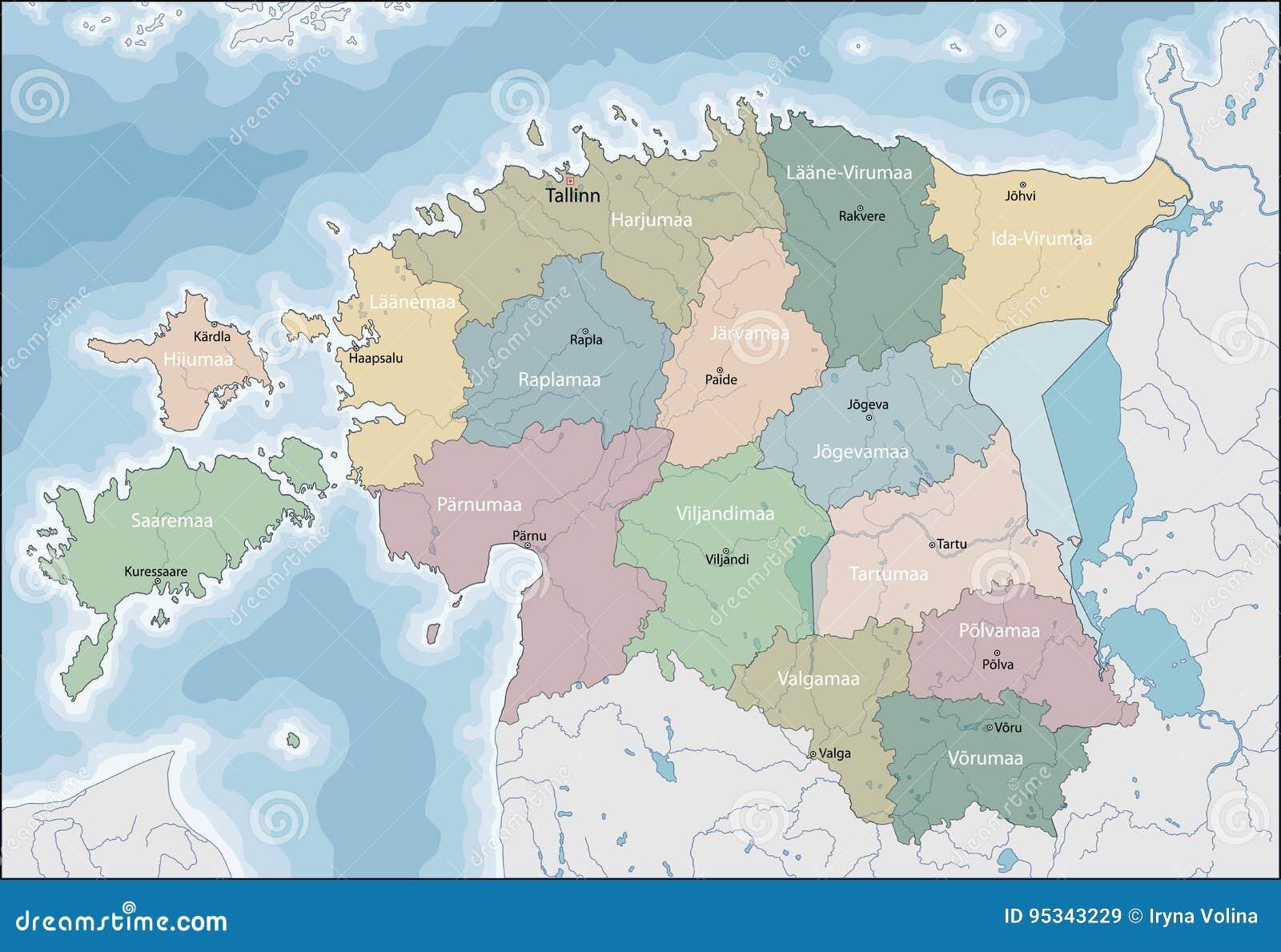 Correspondencia de Estonia